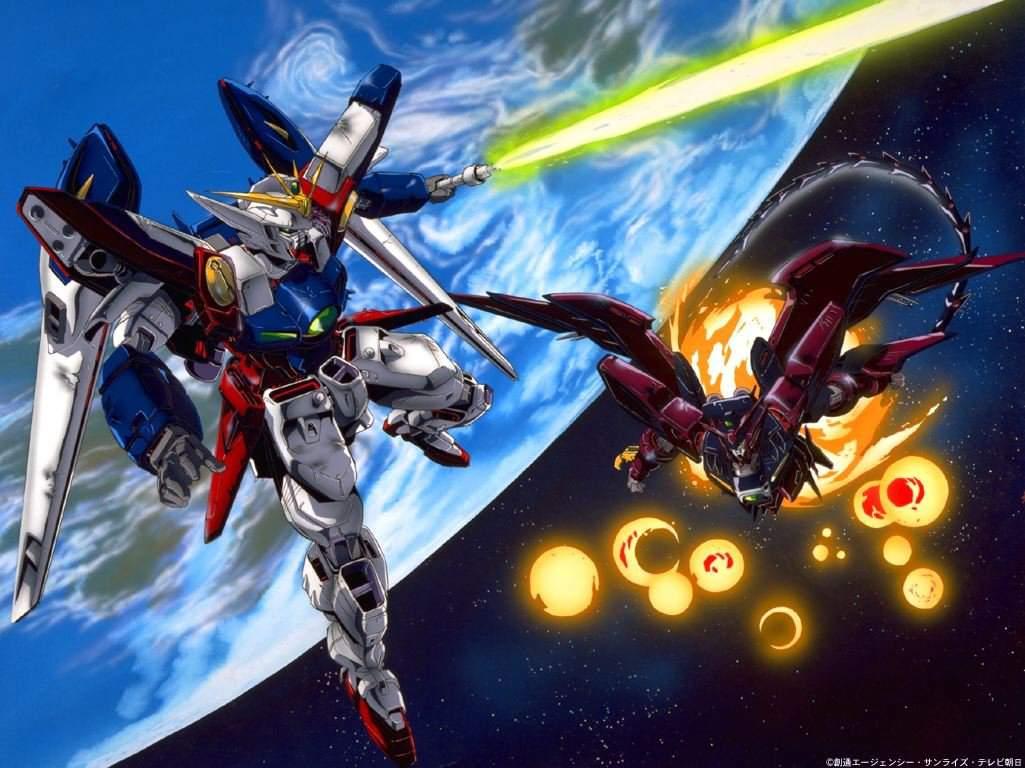Gundam Wing Backgrounds Wallpaper Cave