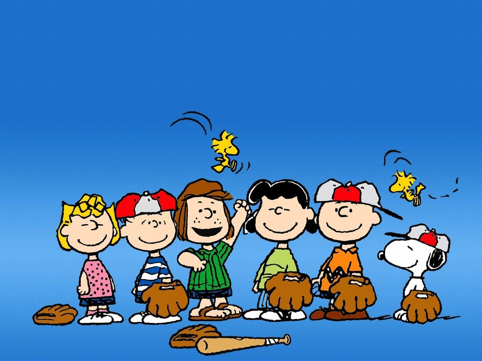 Peanuts characters wallpapers wallpaper cave - Charlie brown bilder ...