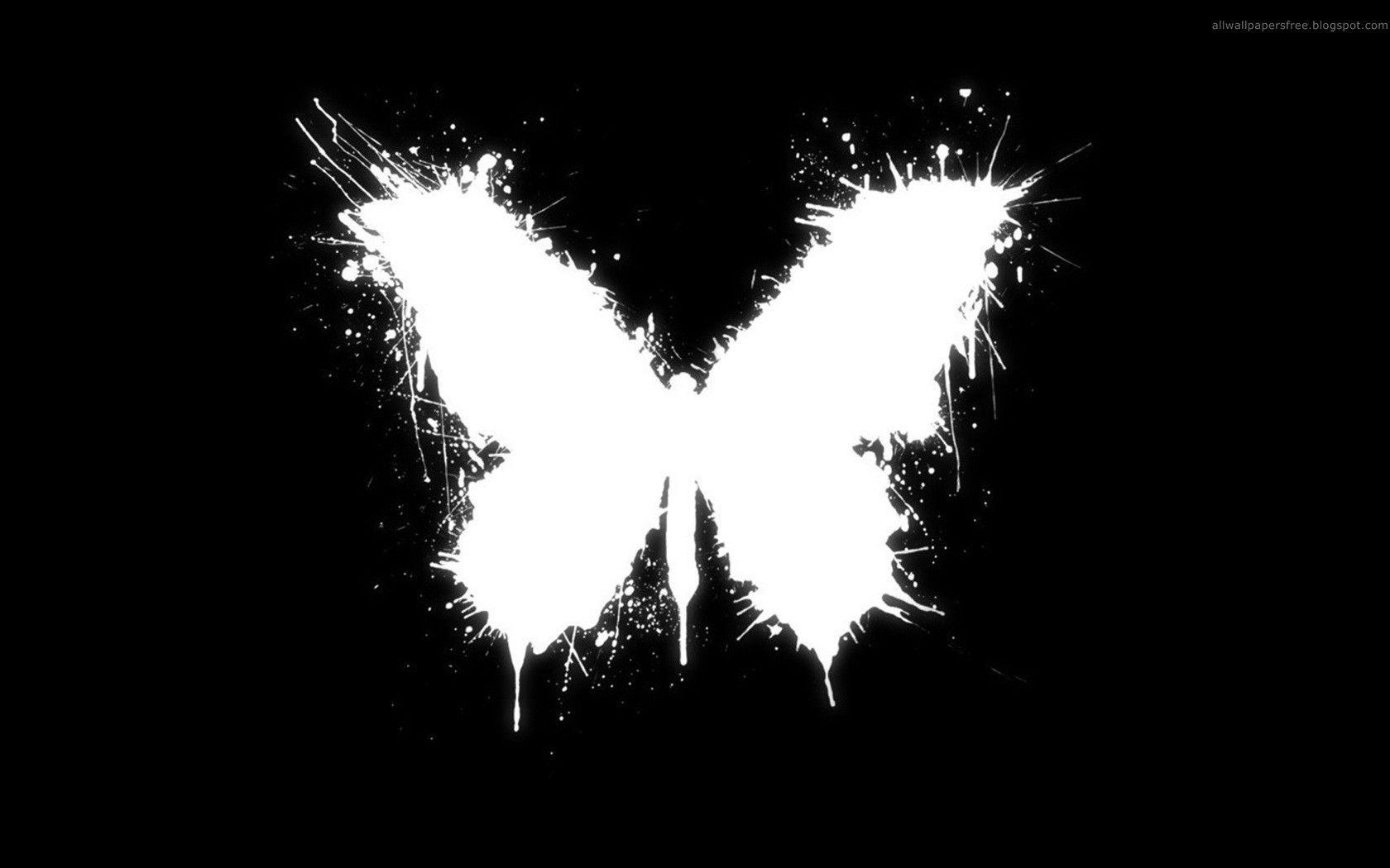 Black butterfly wallpapers wallpaper cave black and white butterfly wallpapers downloads 14892 full hd voltagebd Choice Image