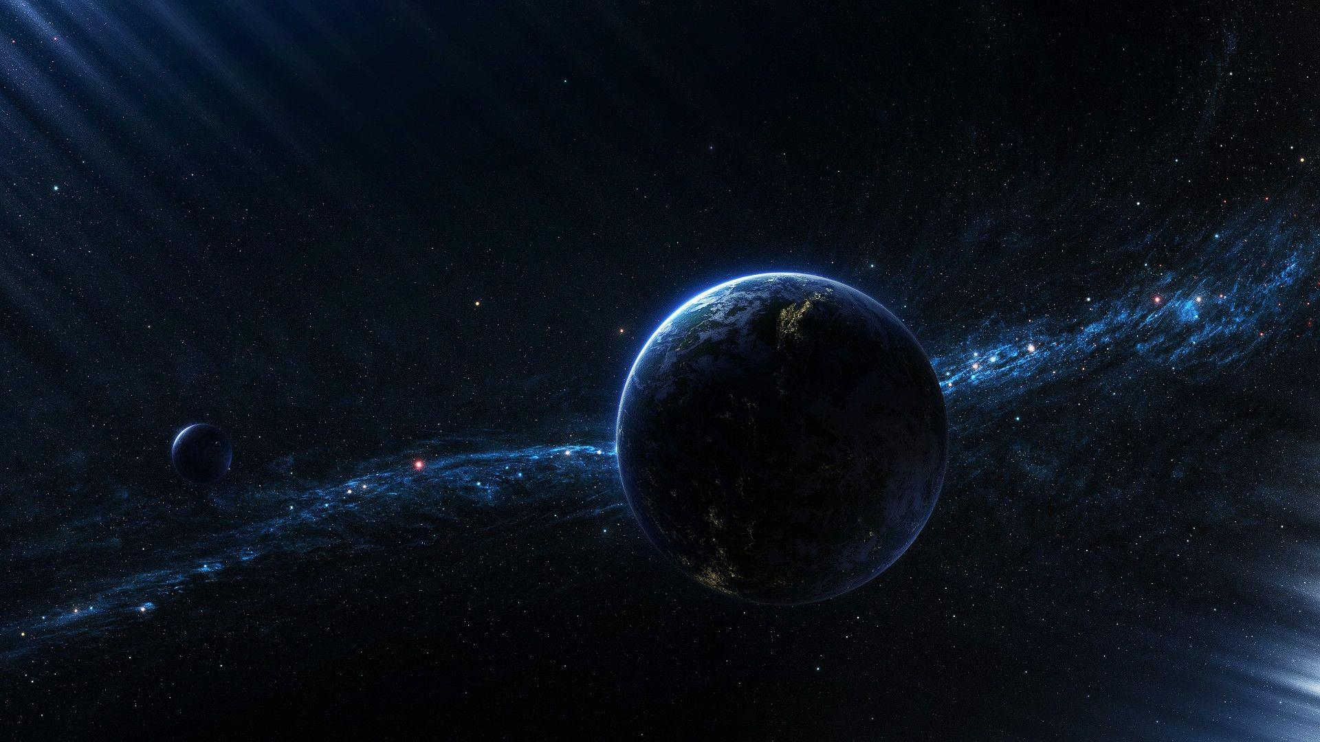 space 1080p wallpaper landscape - photo #47