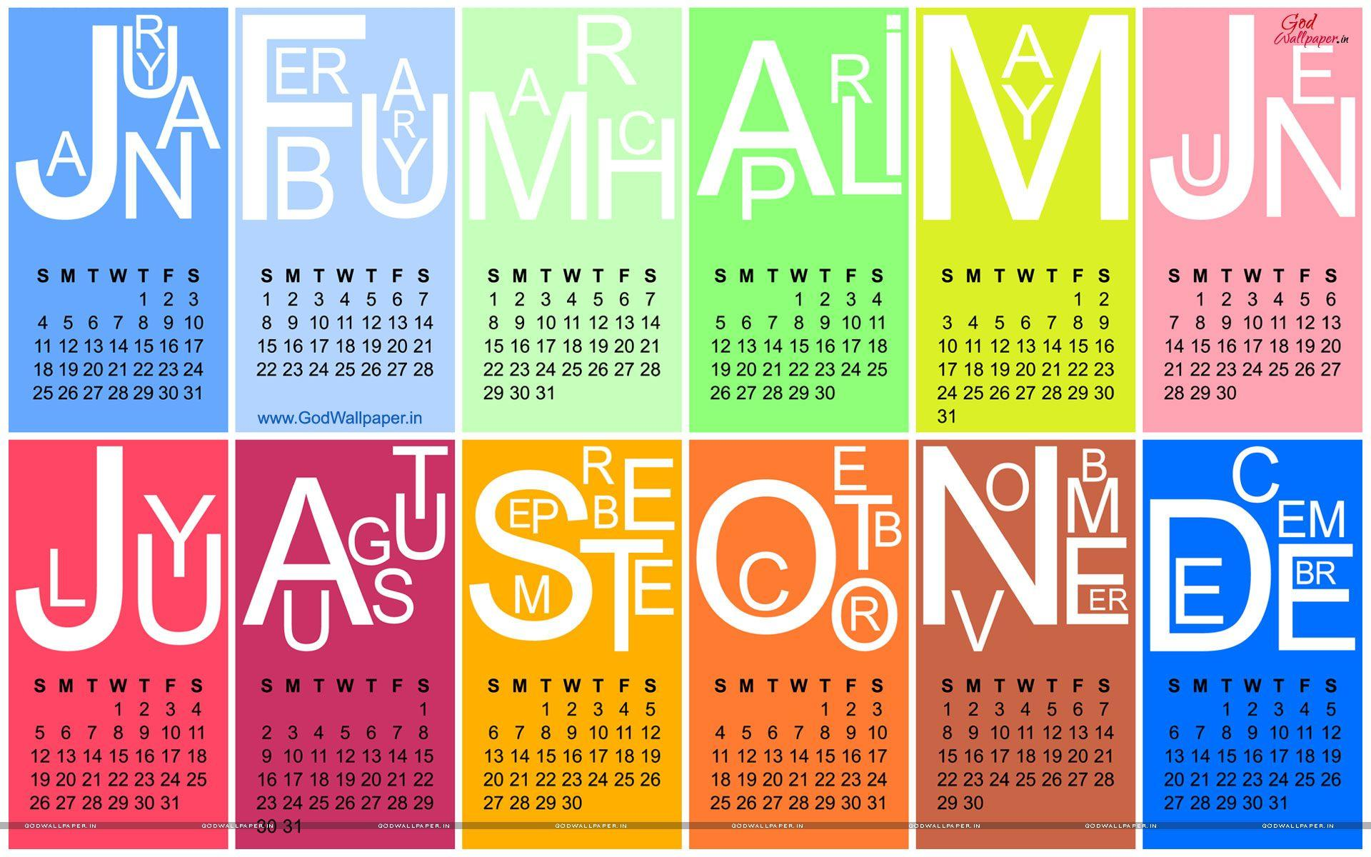 Year Calendar Wallpaper : Wallpapers with calendar wallpaper cave