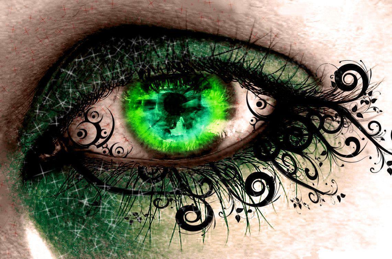 Взгляд зеленых глаз картинки