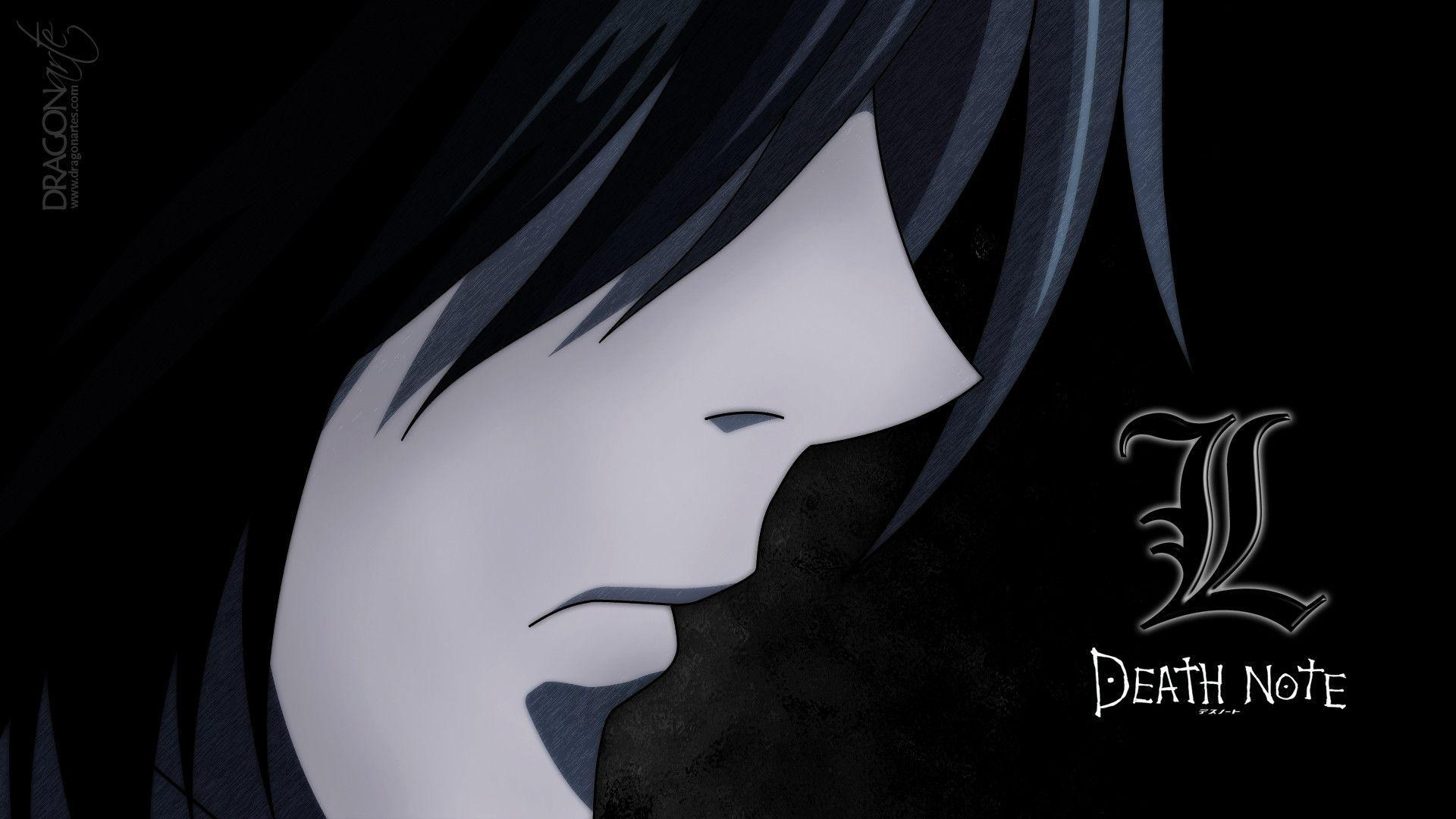 death note l wallpapers wallpaper cave