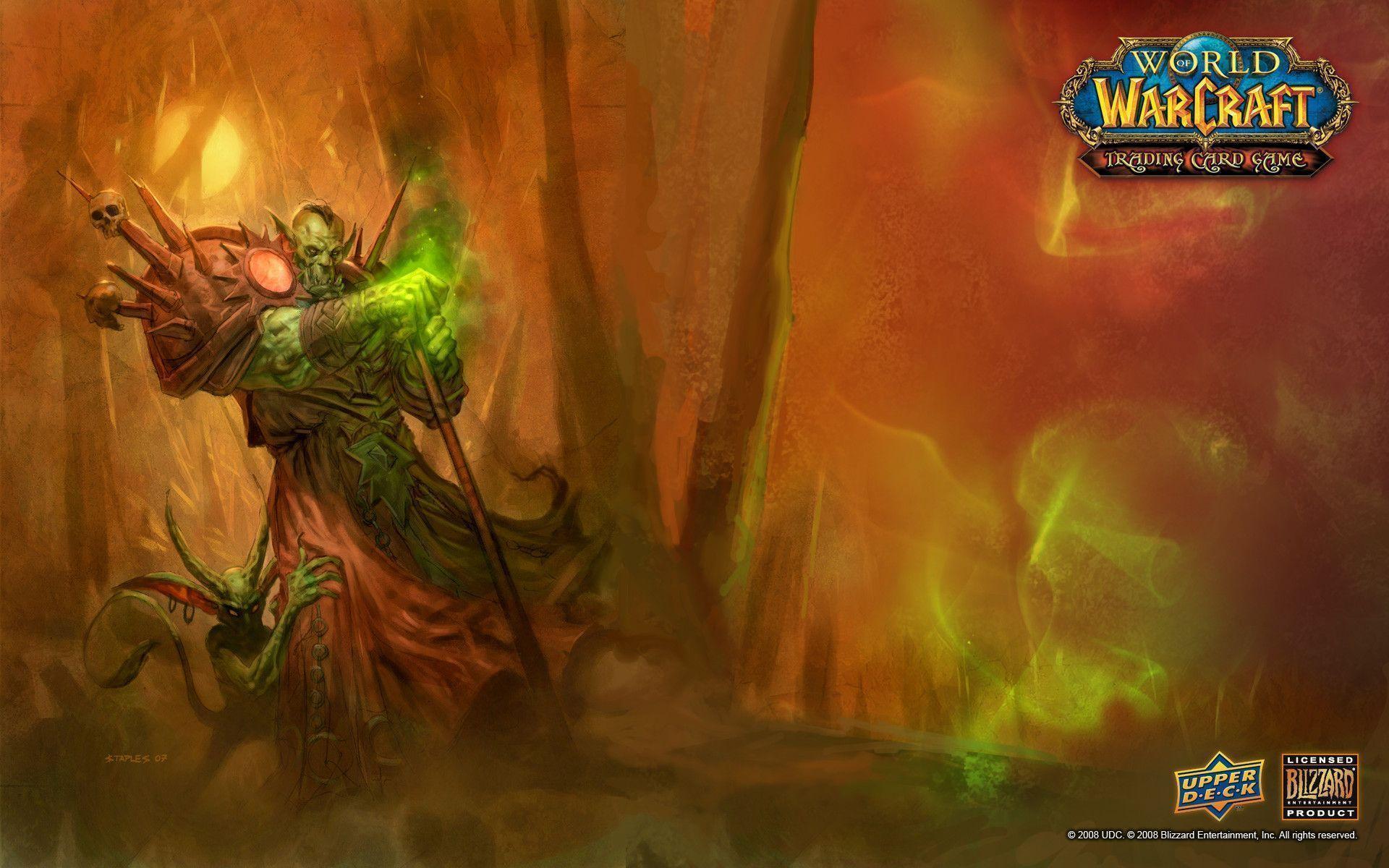 World Of Warcraft Warlock Wallpapers Wallpaper Cave