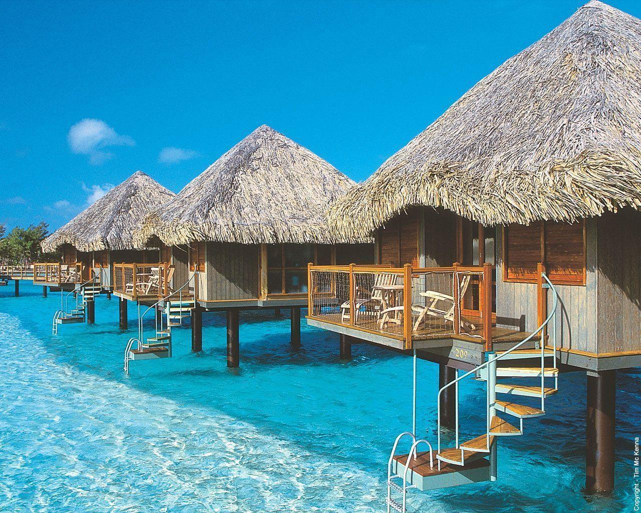 Bora Bora wallpaper Beach wallpapers
