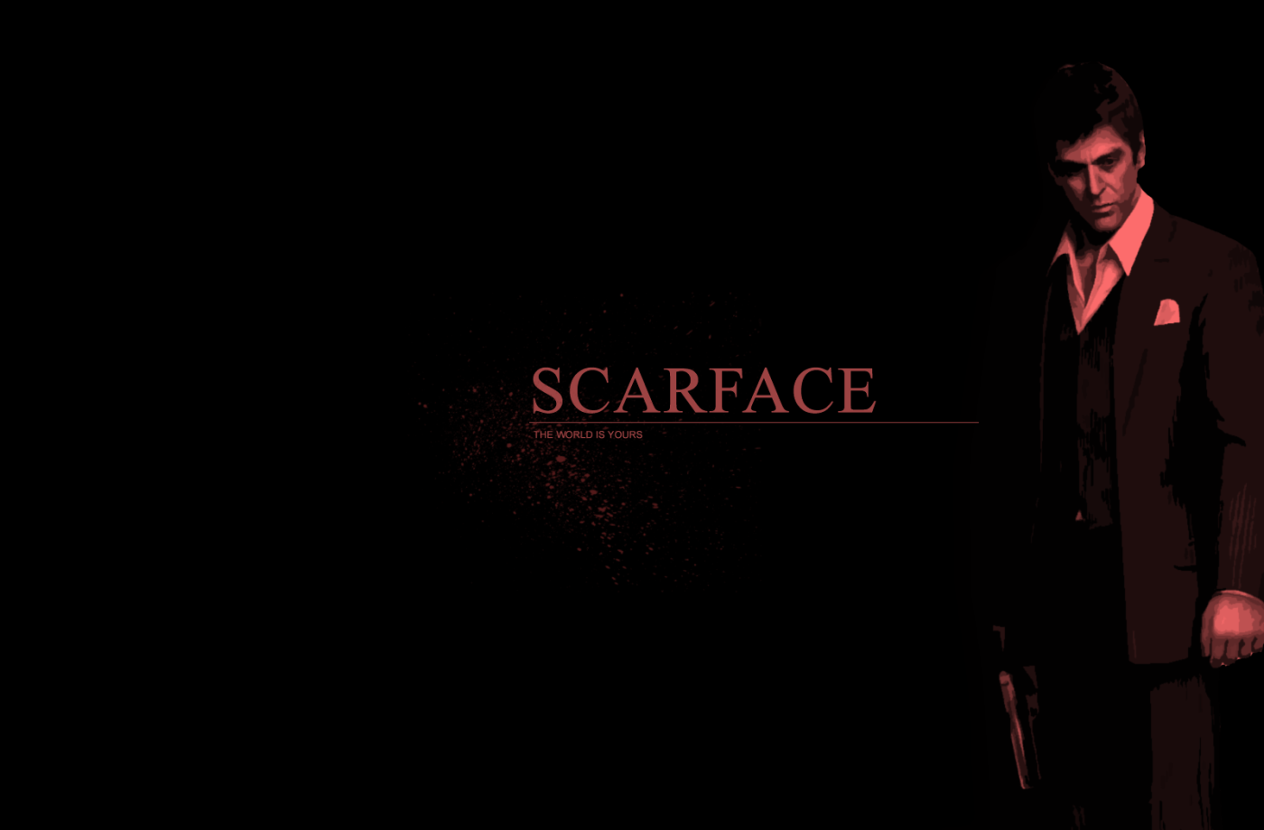 Scarface Wallpaper For Bedroom