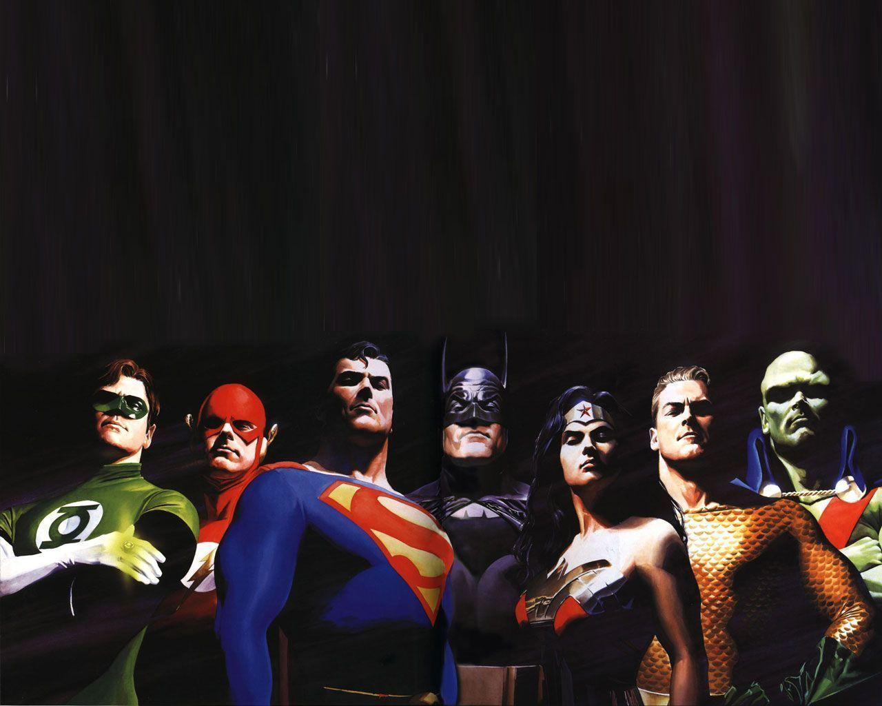 Wallpapers For > Justice League Wallpapers Hd Alex Ross