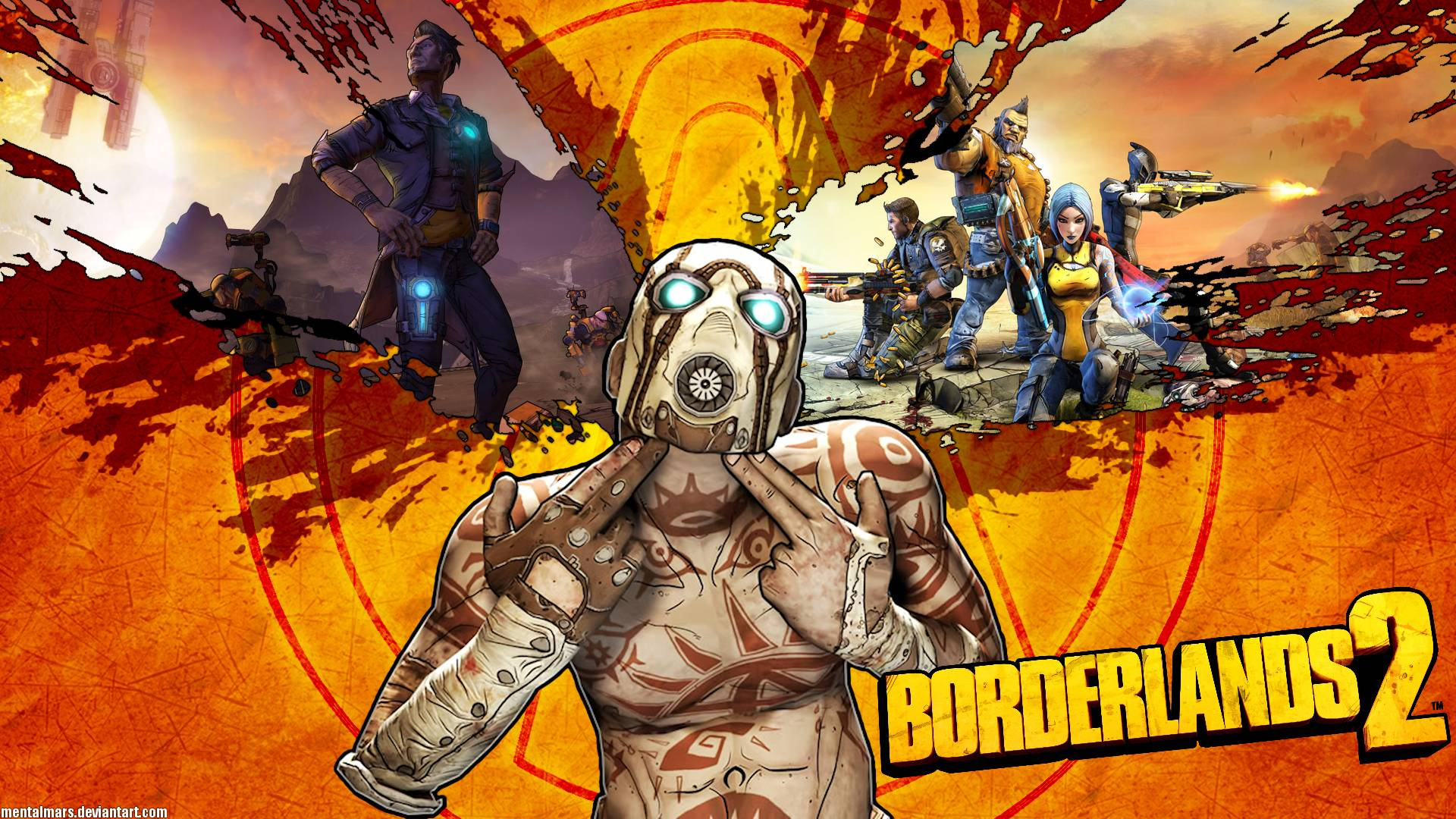 borderlands 2 desktop backgrounds - wallpaper cave
