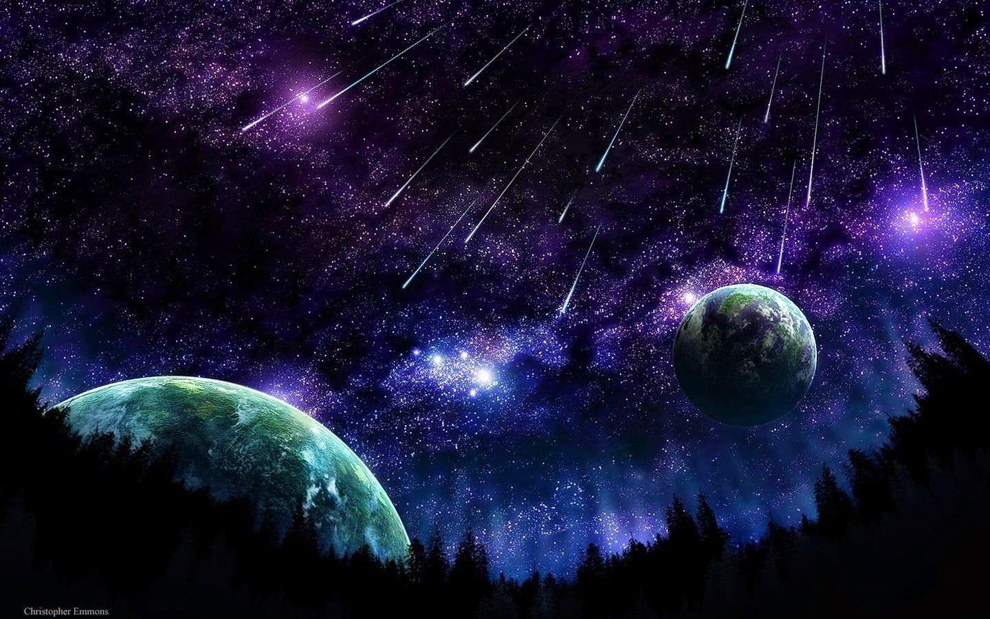Trippy Space Wallpapers Wallpaper Cave