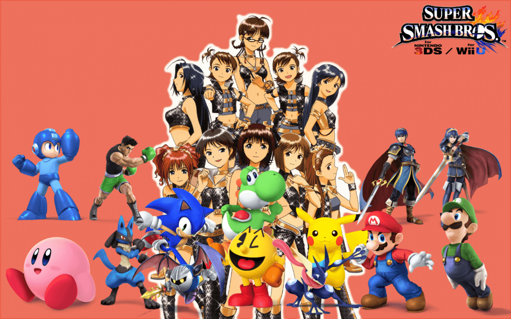 Super Smash Bros. Wii U/3DS iDOLM@STER Wallpapers 4 by TheWolfBunny
