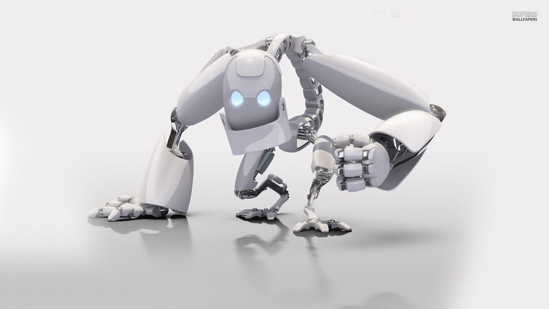 Download 3D Robot Wallpaper