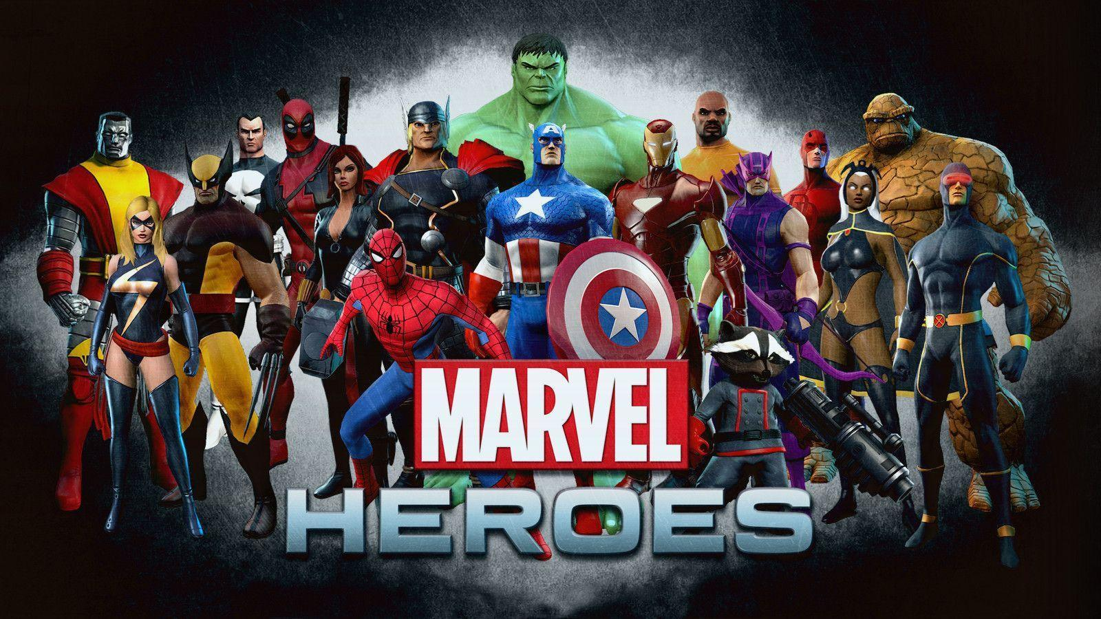 marvel hero wallpapers - wallpaper cave