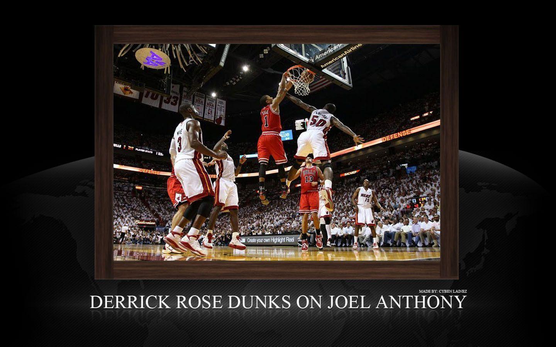 derrick rose wallpaper dunk - photo #24