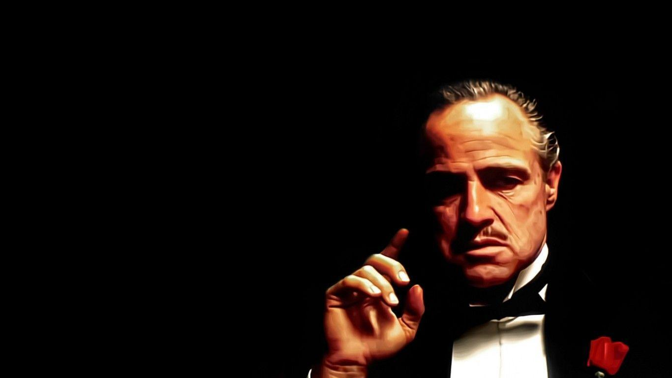 The Godfather Marlon Brando Wallpaper - Music and Movie Wallpapers ...
