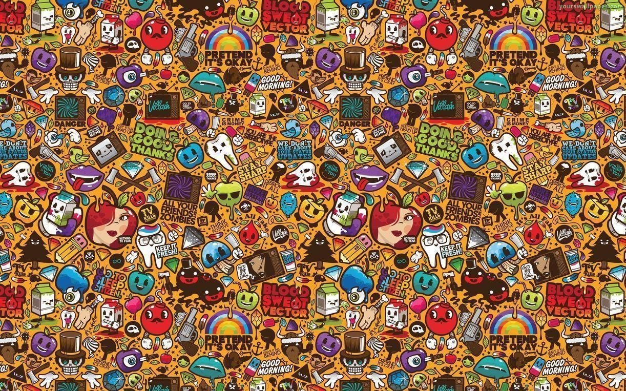 Doodle wallpapers wallpaper cave - Doodle desktop wallpaper ...
