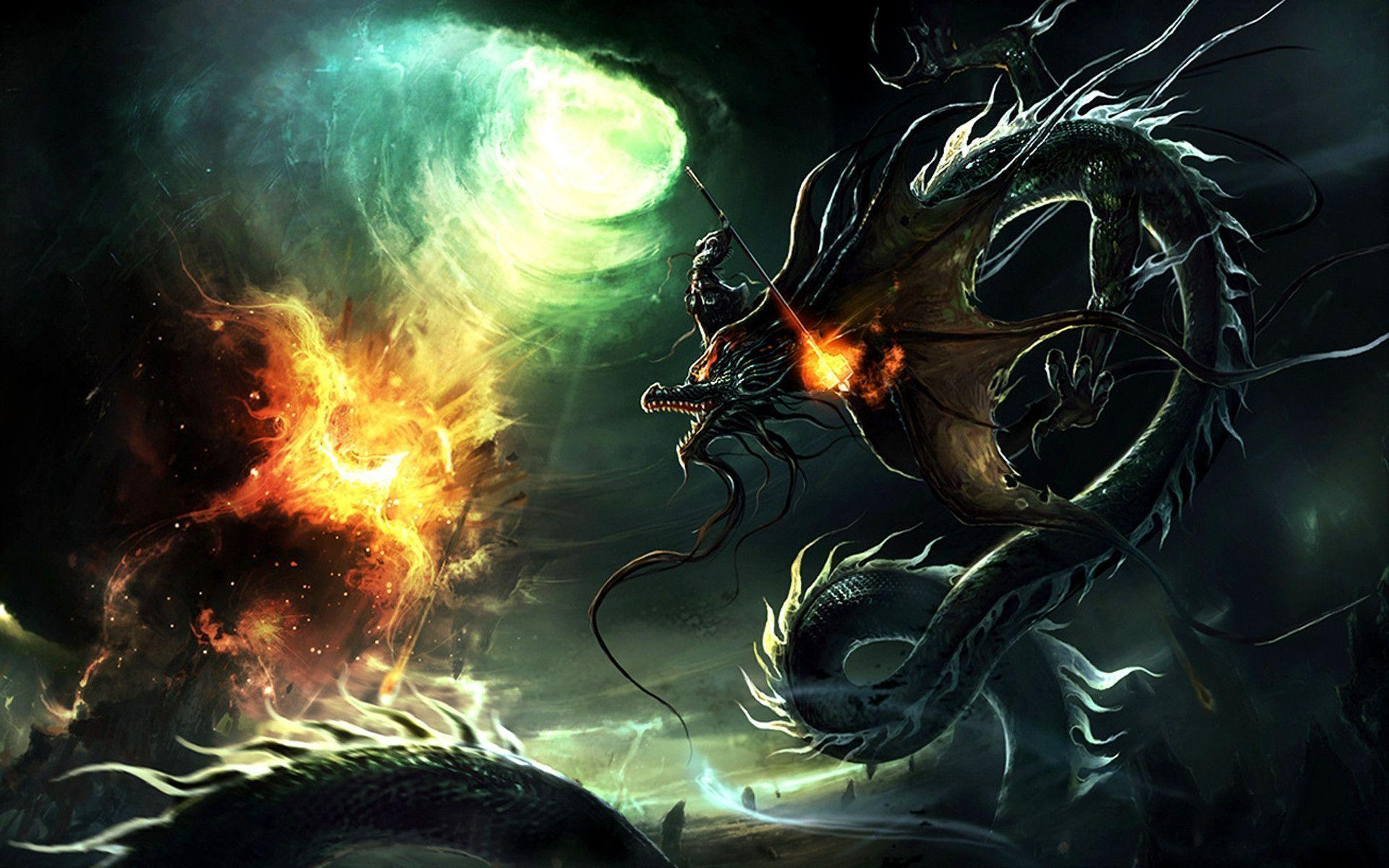 dragon wallpaper widescreen high resolution - photo #31