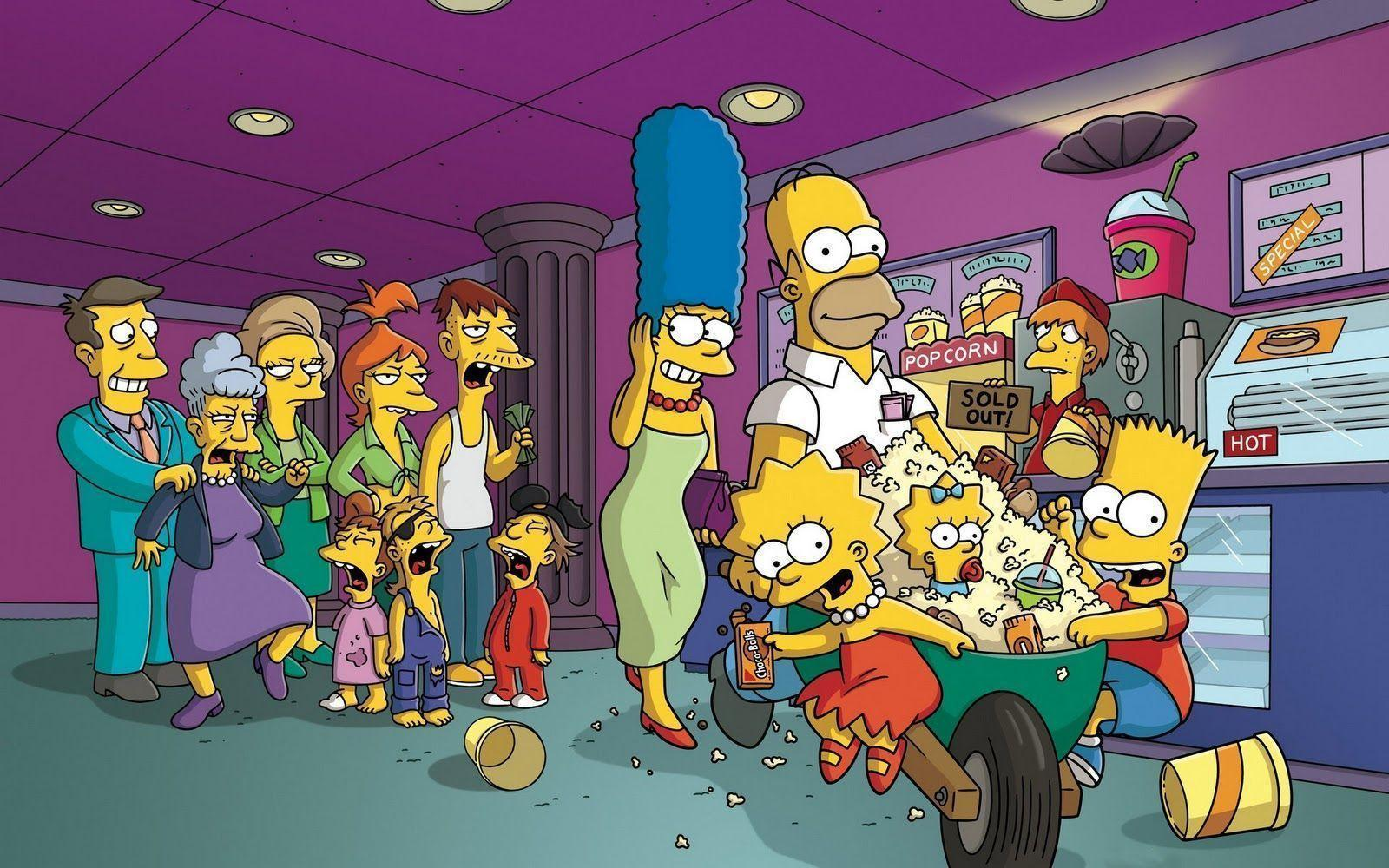 349 The Simpsons Wallpapers
