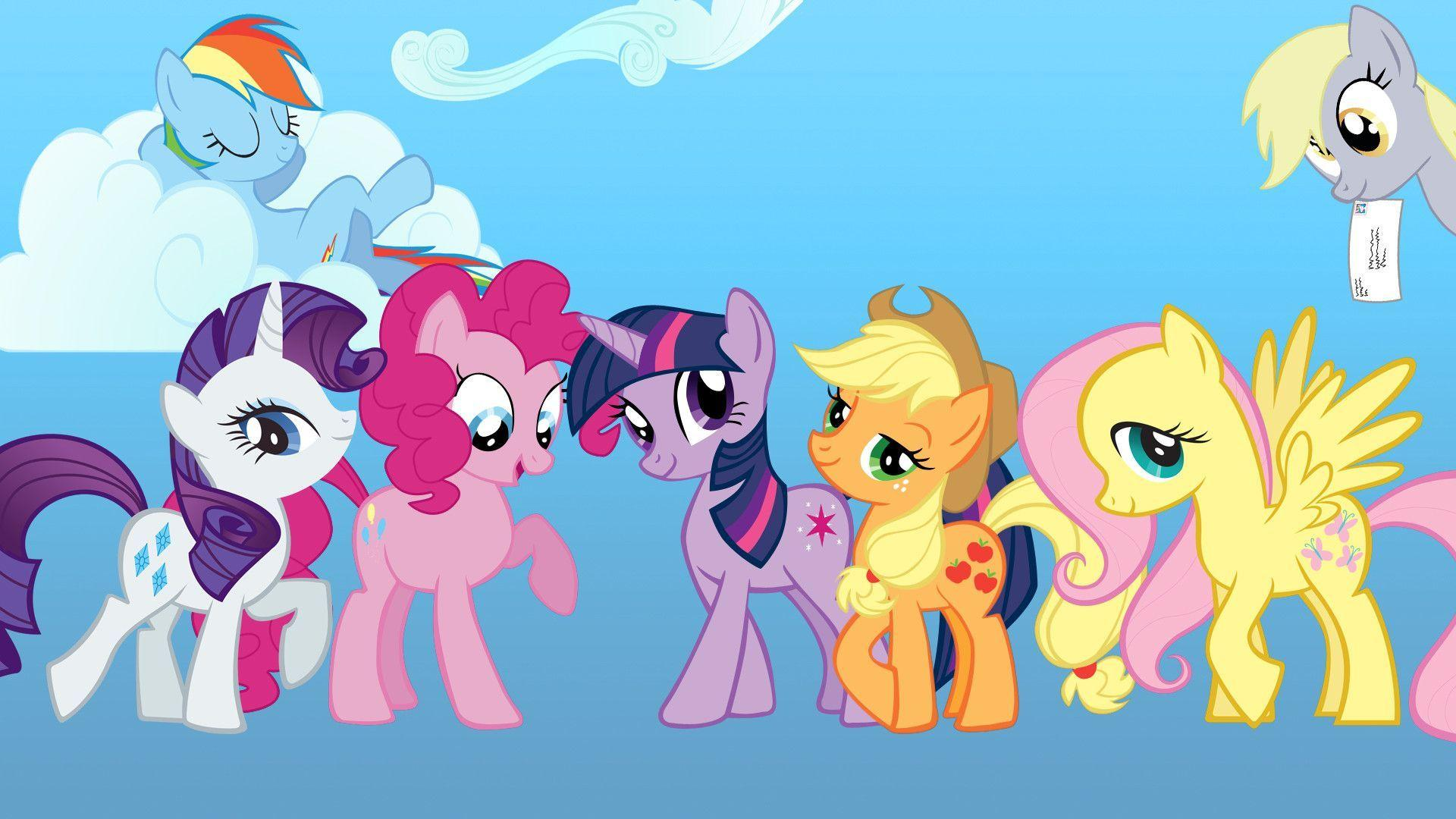 my little pony birthday wallpaper - photo #15