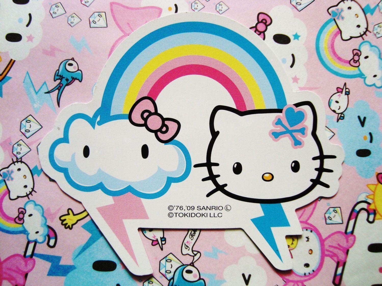Hello Kitty Tokidoki Wallpapers - Wallpaper Cave