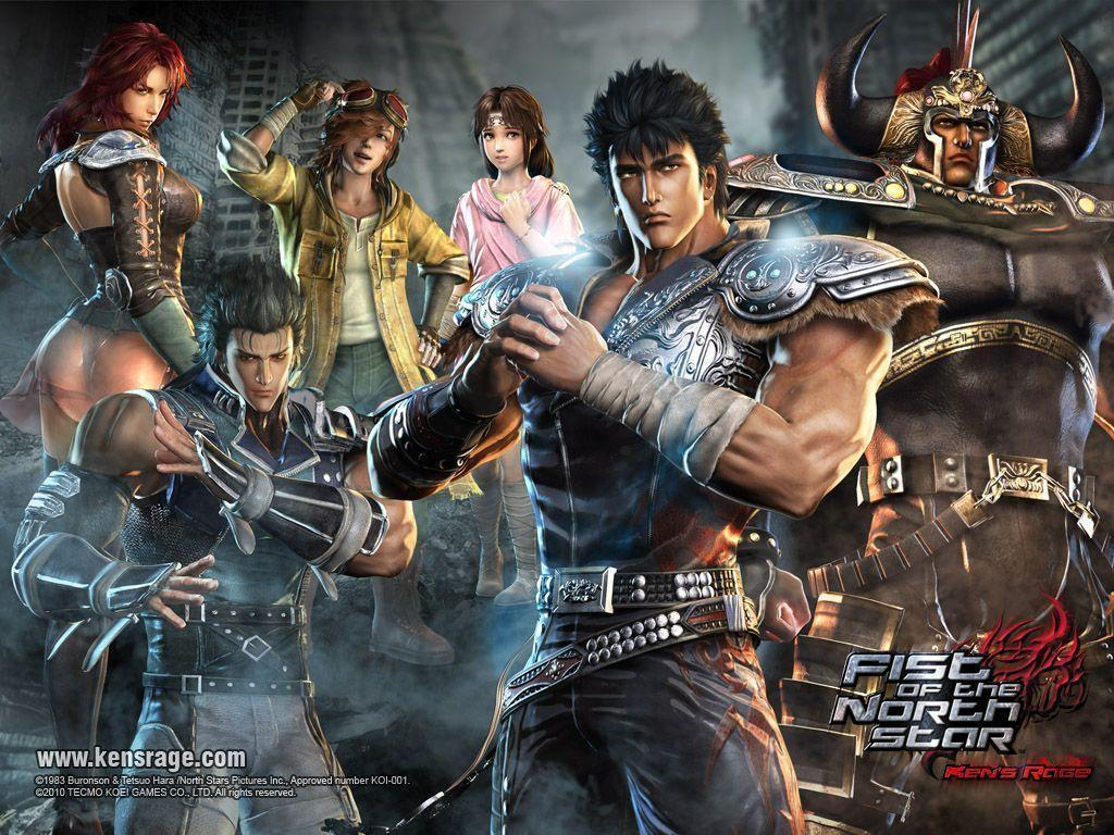 Fist of the north star game