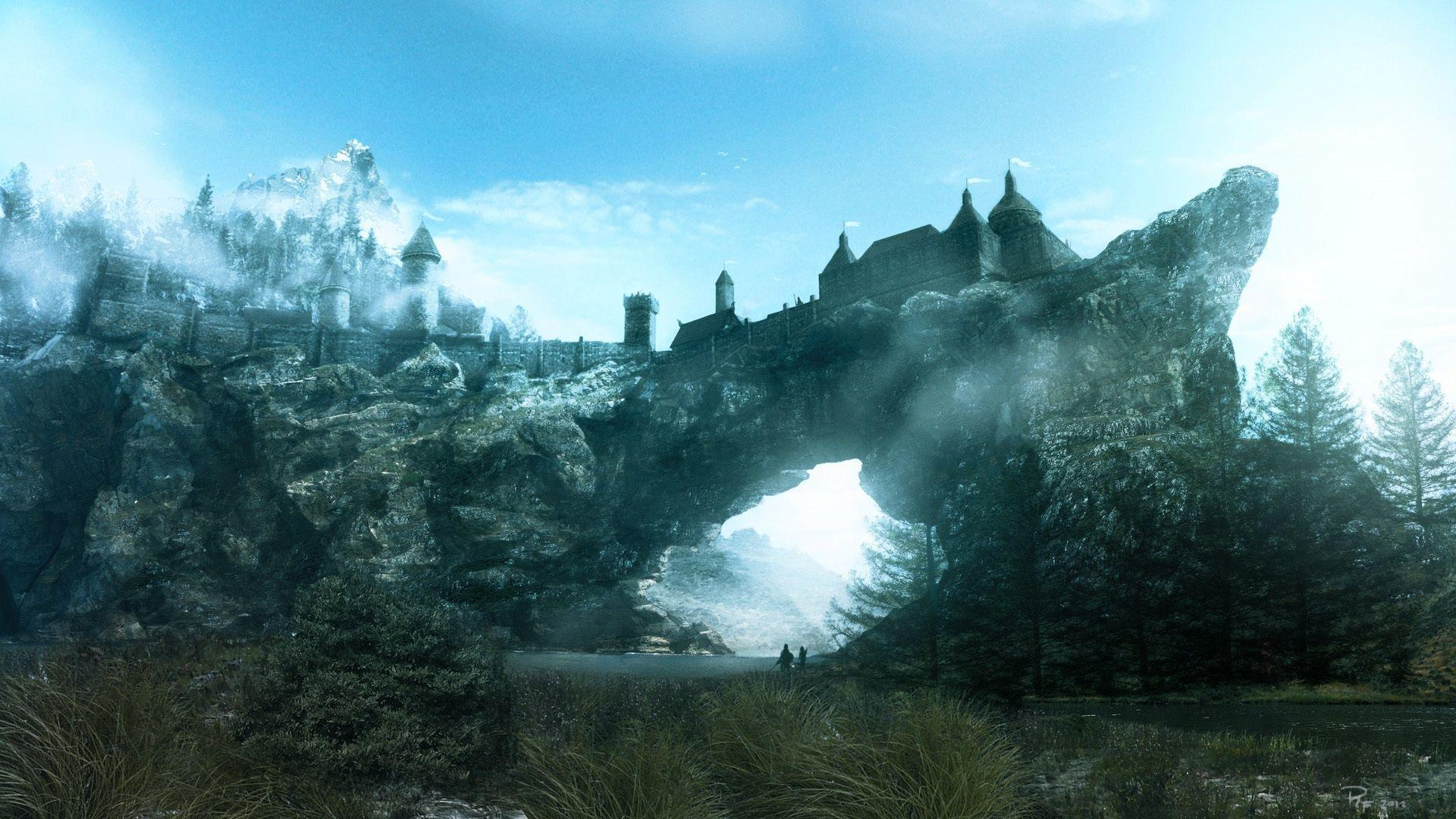 skyrim hd wallpapers 1366x768 - photo #35