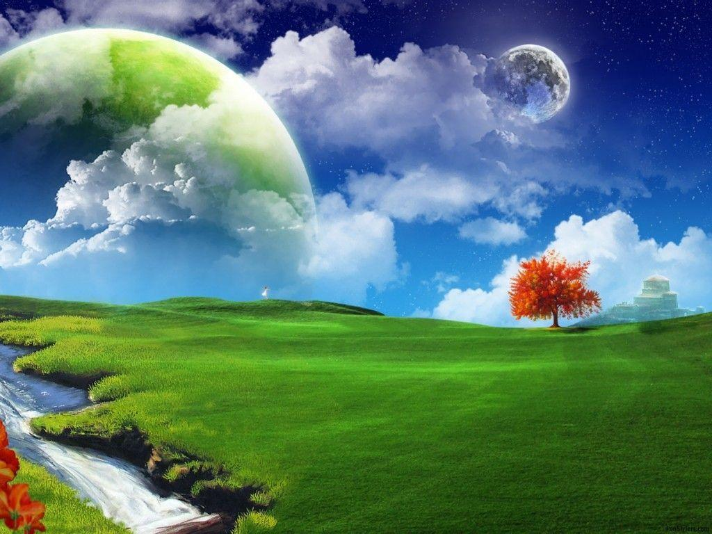3D Nature Wallpaper For Windows 7 Widescreen 2 HD Wallpapers