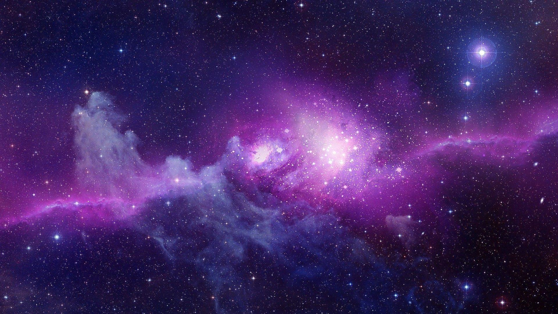 Hd wallpaper galaxy - Purple Galaxy Wallpaper