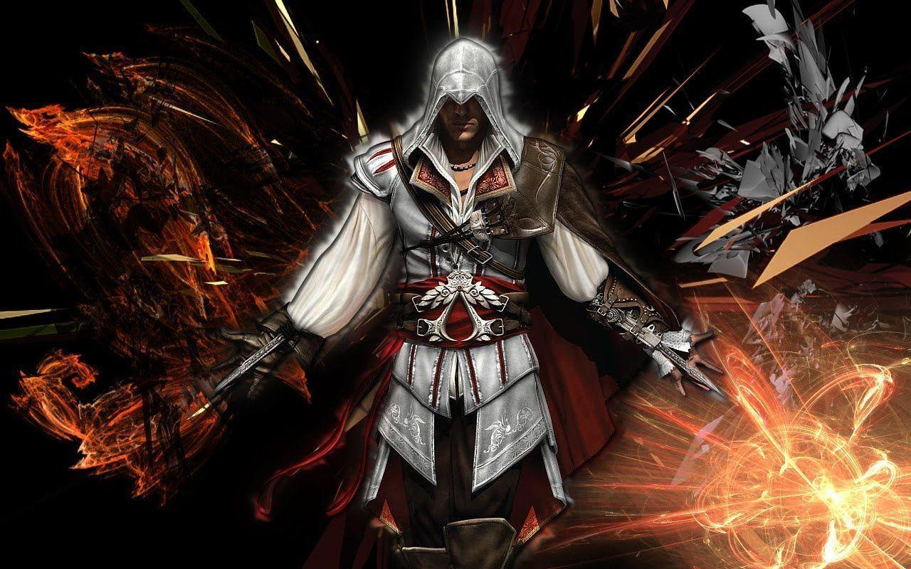 This is a PlayStation 3 Assassin&Creed 2 wallpapers get for free