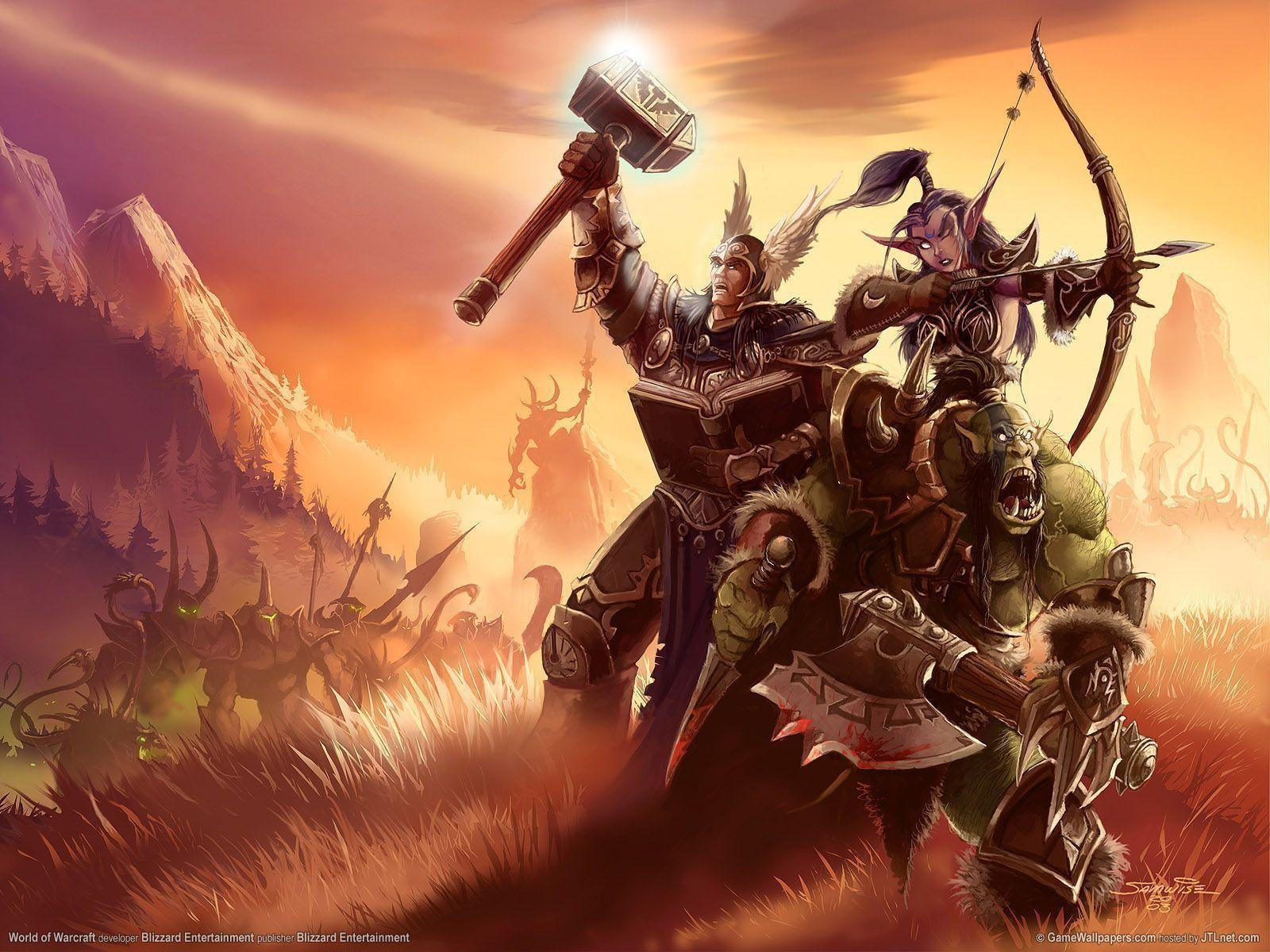World Of Warcraft Wallpaper Paladin