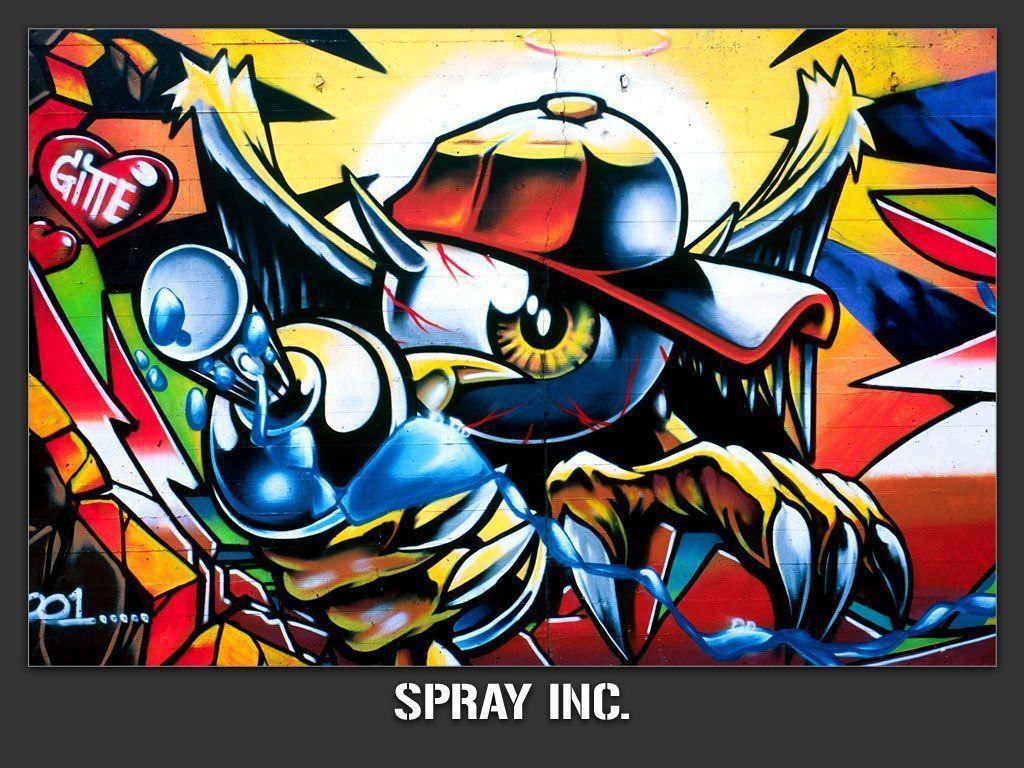 Graffiti 3d Background Wallpaper Wallpaper Background Hd