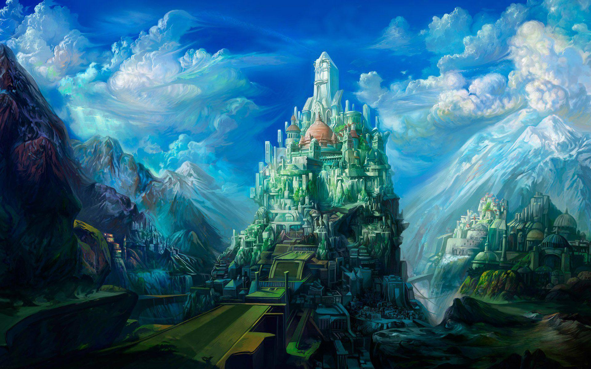 fantasy castle wallpapers - wallpaper cave