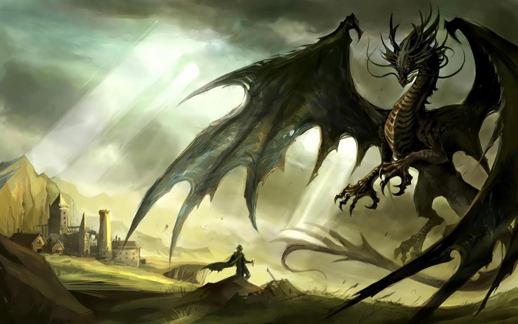 Wallpapers For > Dragon Wallpapers Widescreen Hd