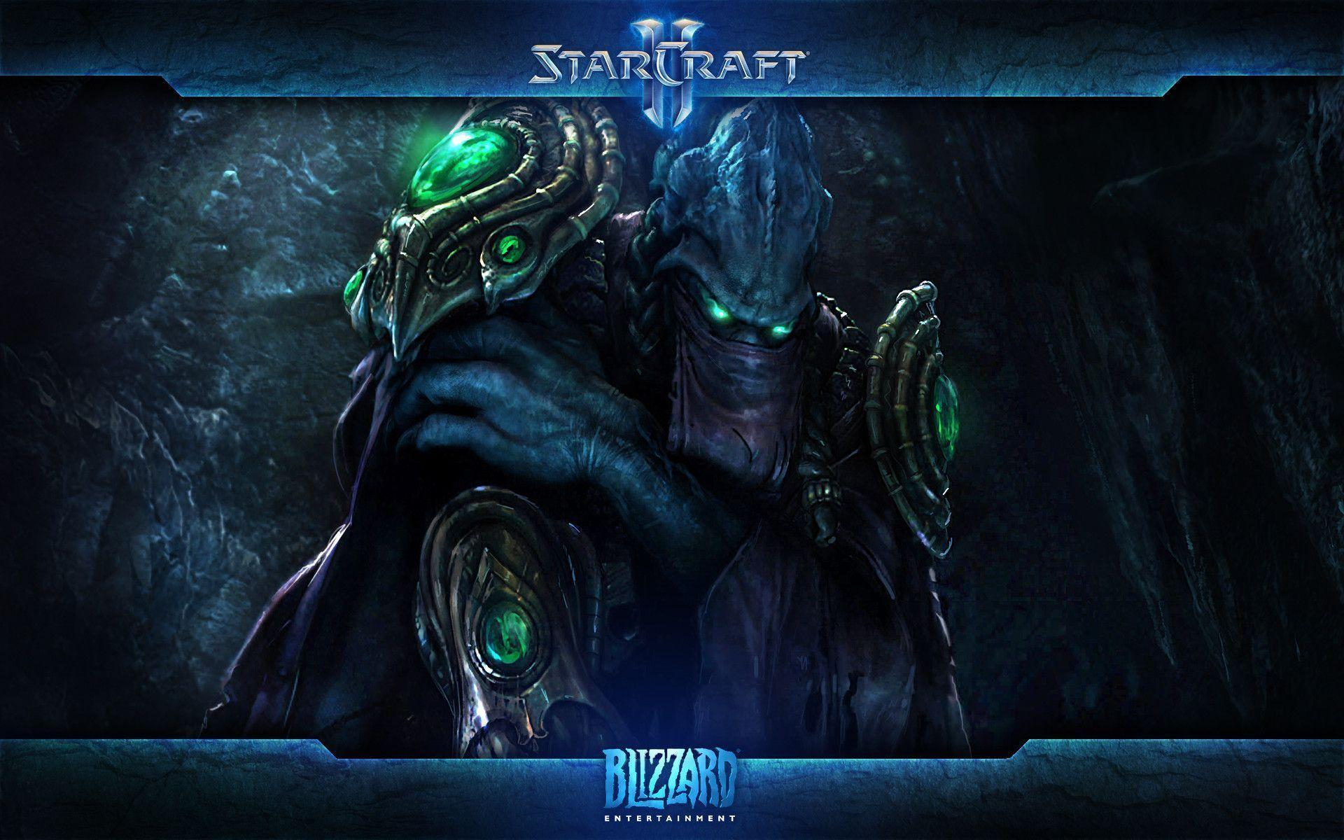 Hierarch Artanis StarCraft II Legacy of the Void wallpaper Game