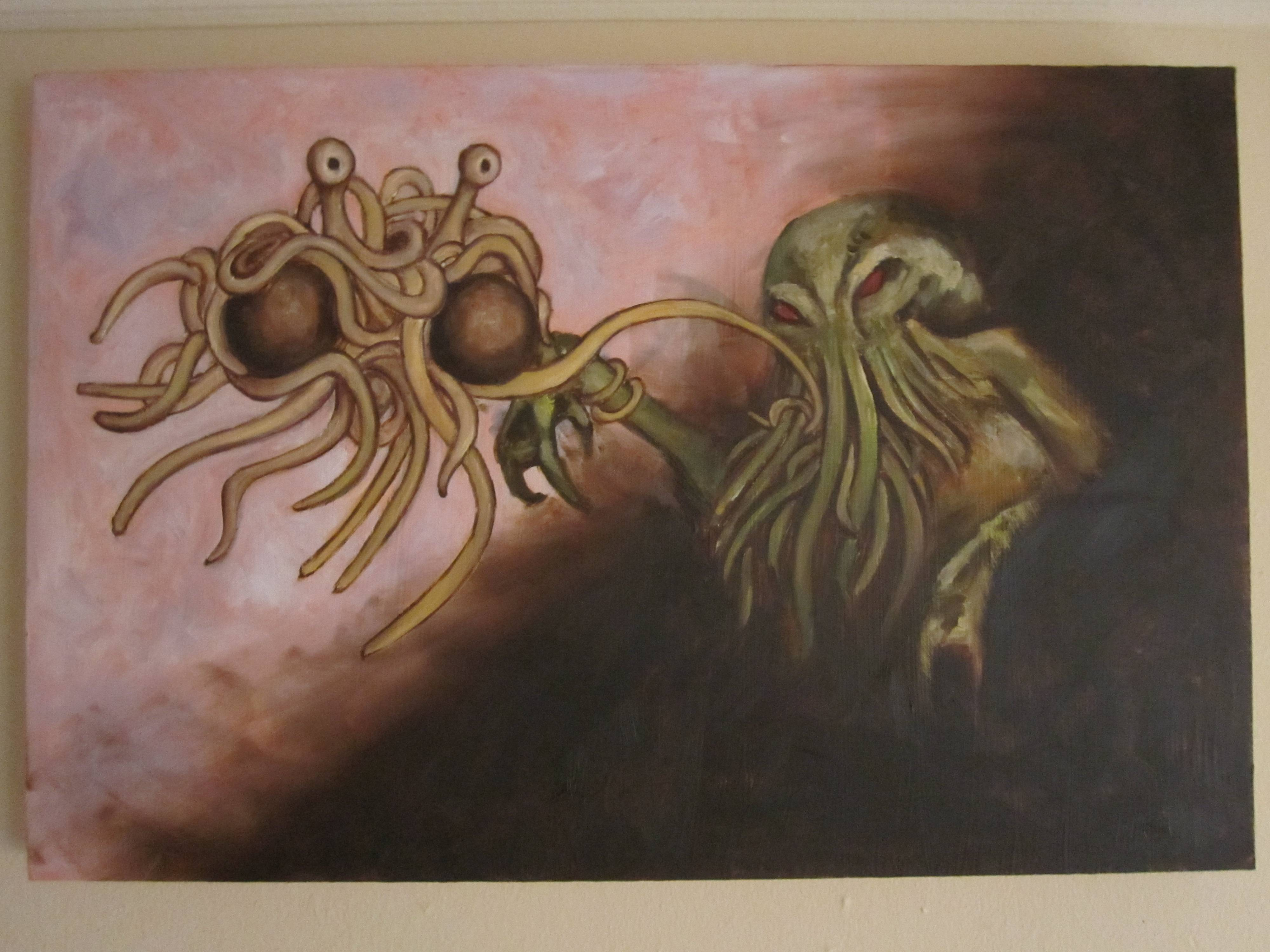 Flying Spaghetti Monster Wallpapers Wallpaper Cave