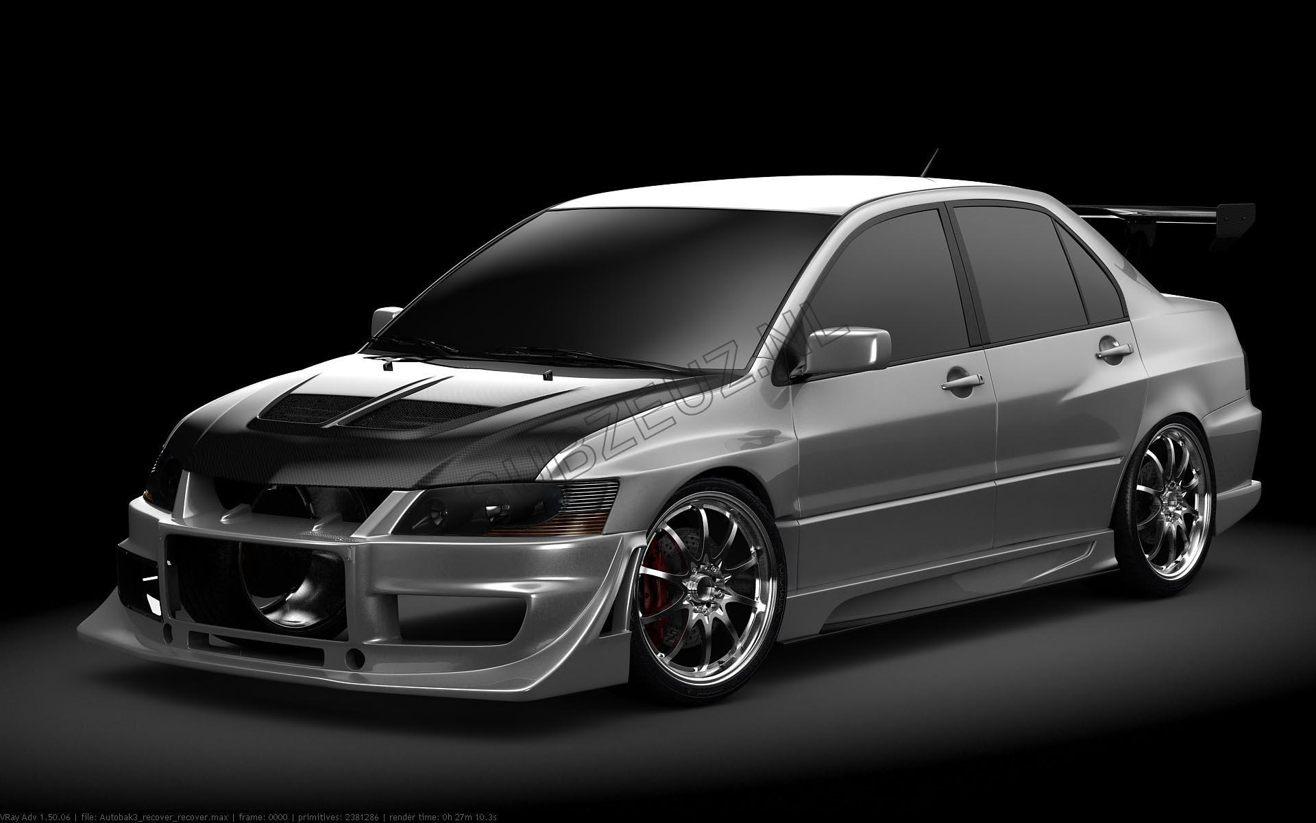 Mitsubishi Evo 8 Wallpaper - Viewing Gallery