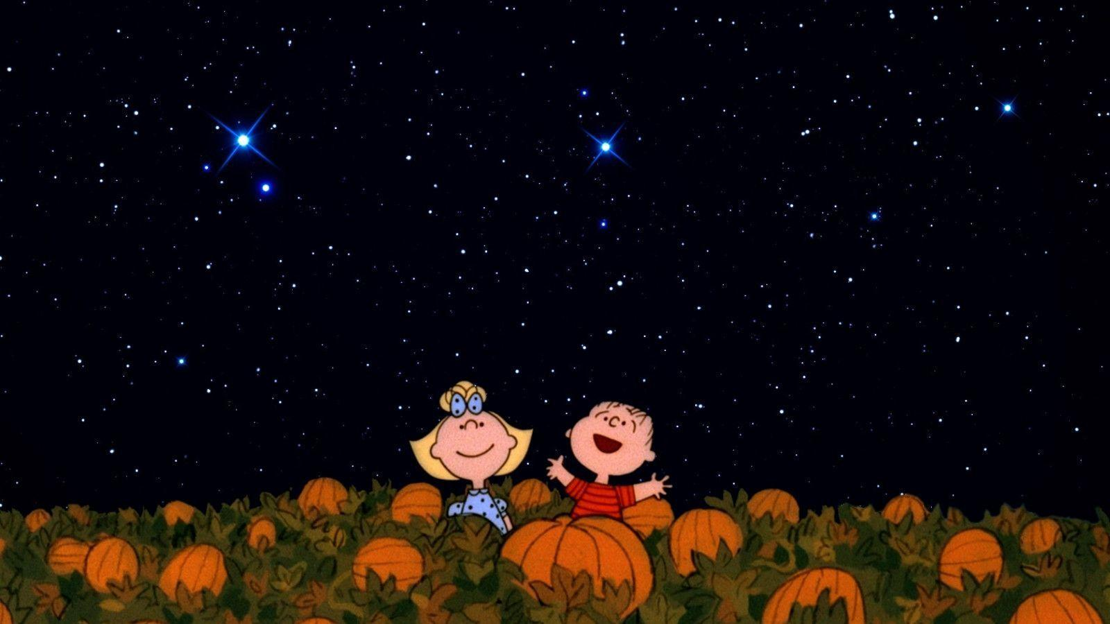 charlie brown thanksgiving wallpaper
