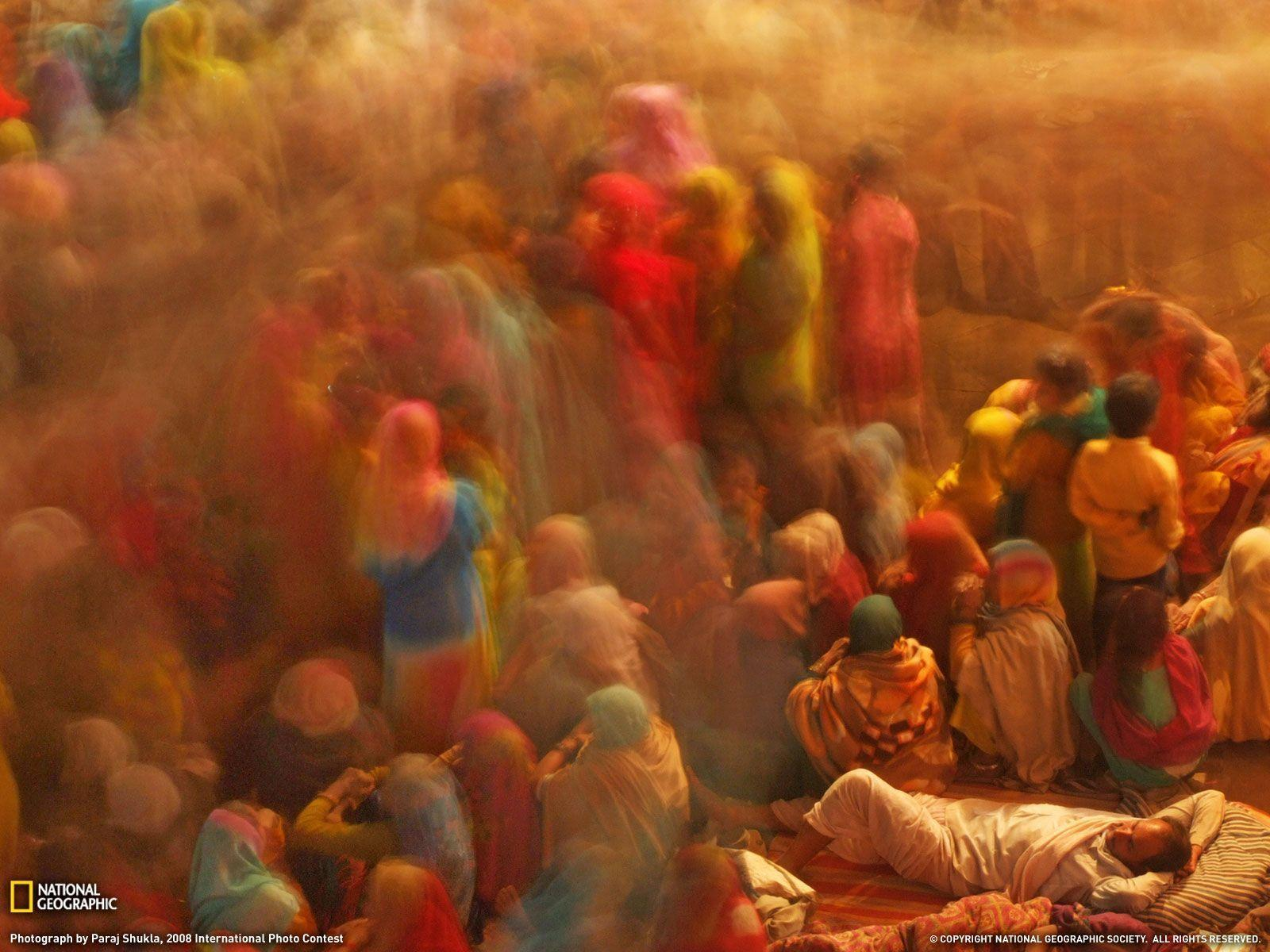 Commotion Picture, India Wallpaper - National Geographic Photo of ...