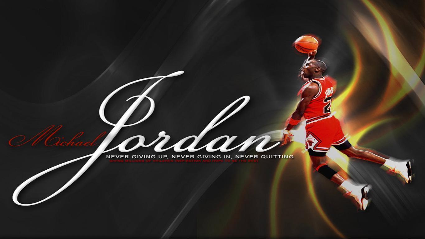 Michael Jordan Dunking...