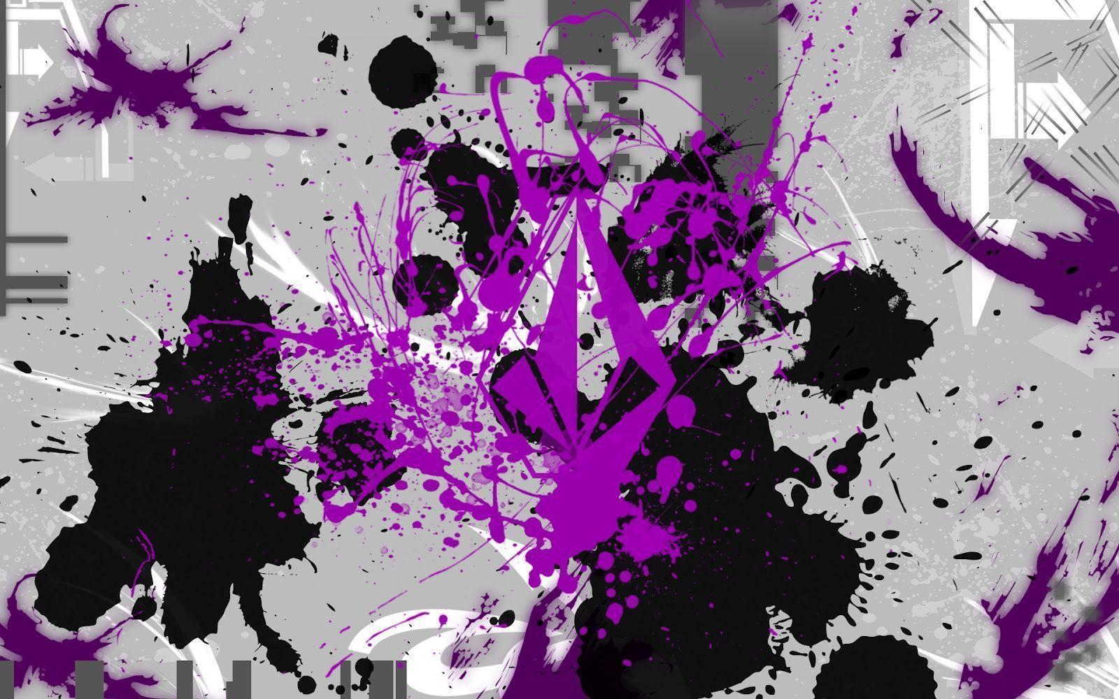Paint Splatter Desktop Wallpaper Splatter Paint Wallpaper ...