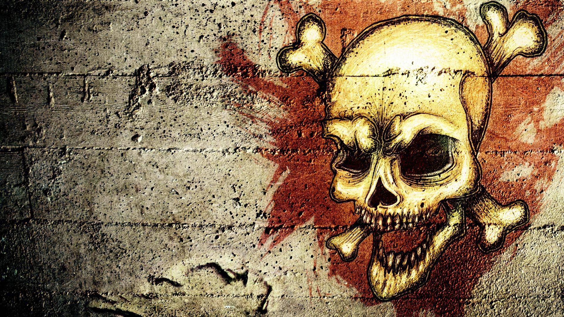 skull wallpaper wallpapers hd - photo #8