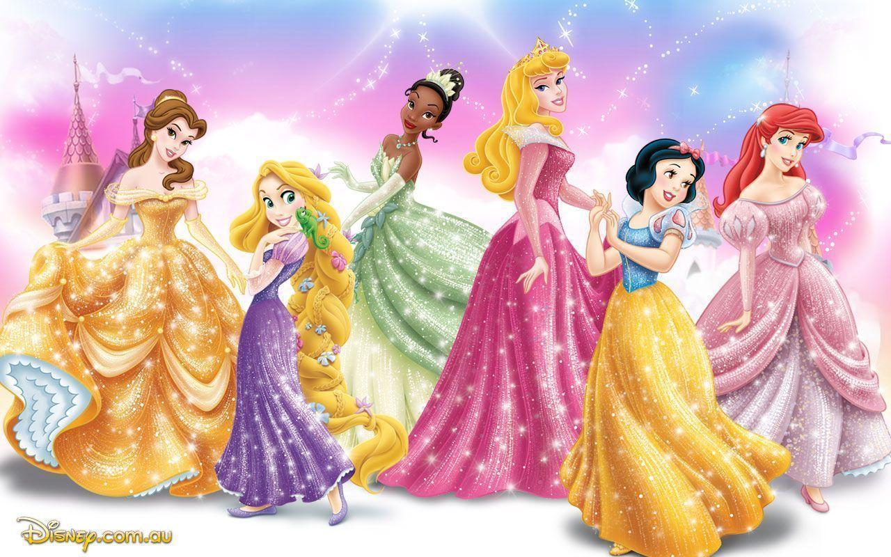 Disney princesses wallpapers wallpaper cave for Disney princess mural wallpaper