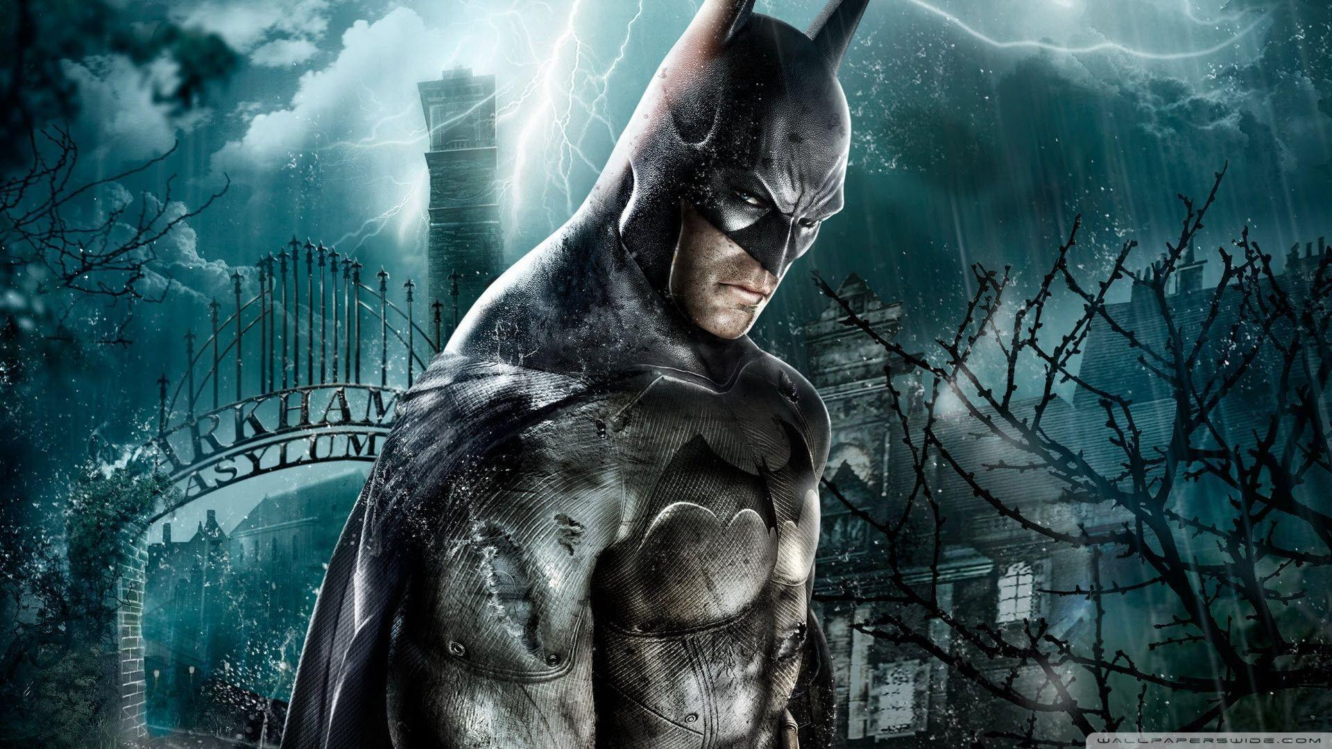 Download Batman Arkham Asylum Game Wallpapers 1920x1080