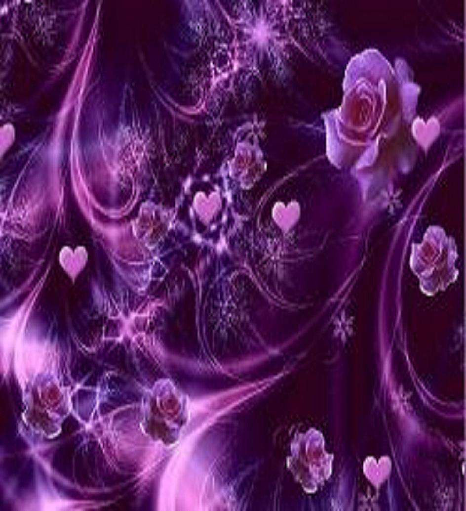 pretty purple flower wallpaper - photo #18
