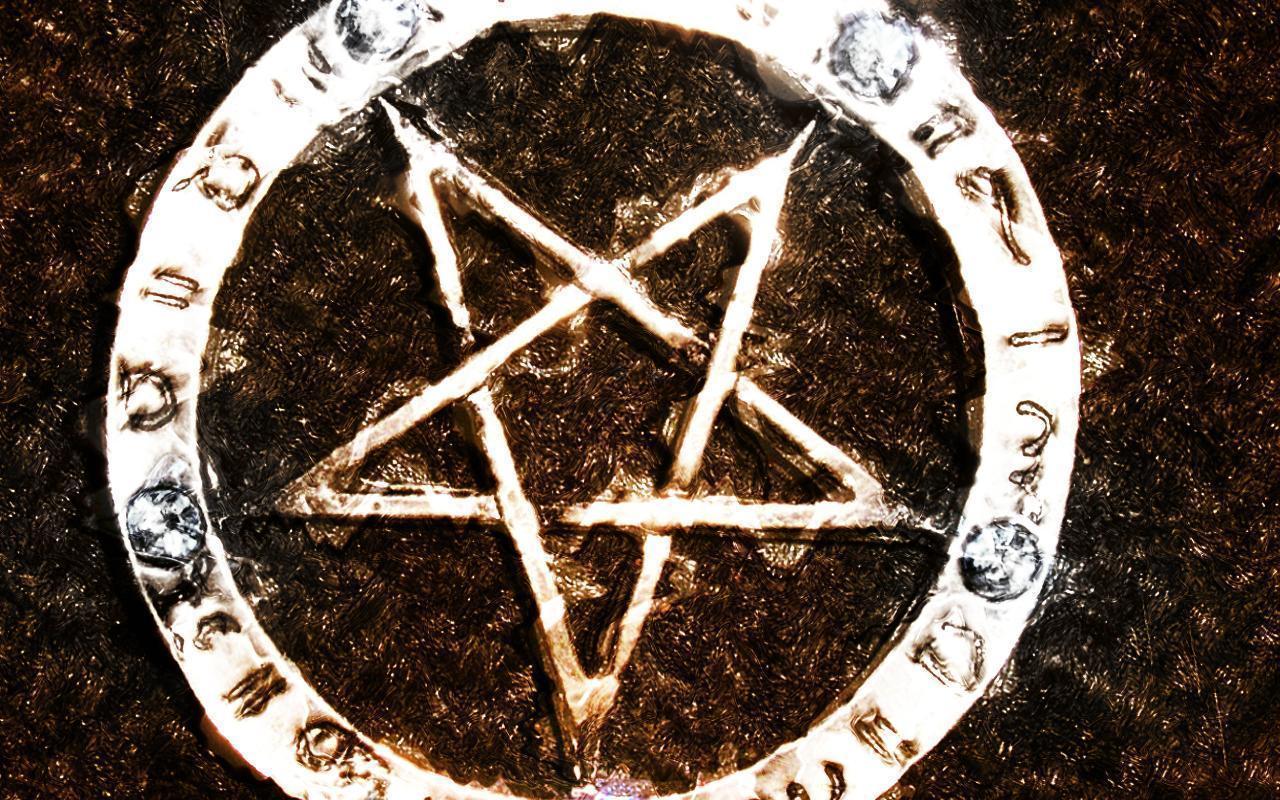 Wiccan Pentacle Wallpaper - WallpaperSafari