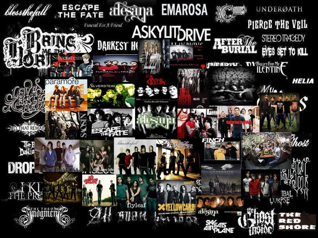 screamo bands wallpaper - photo #2