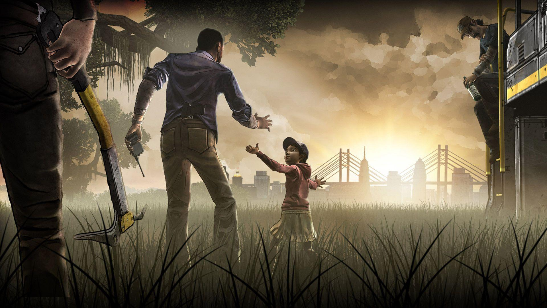Image For > The Walking Dead Season 1 Game Wallpapers