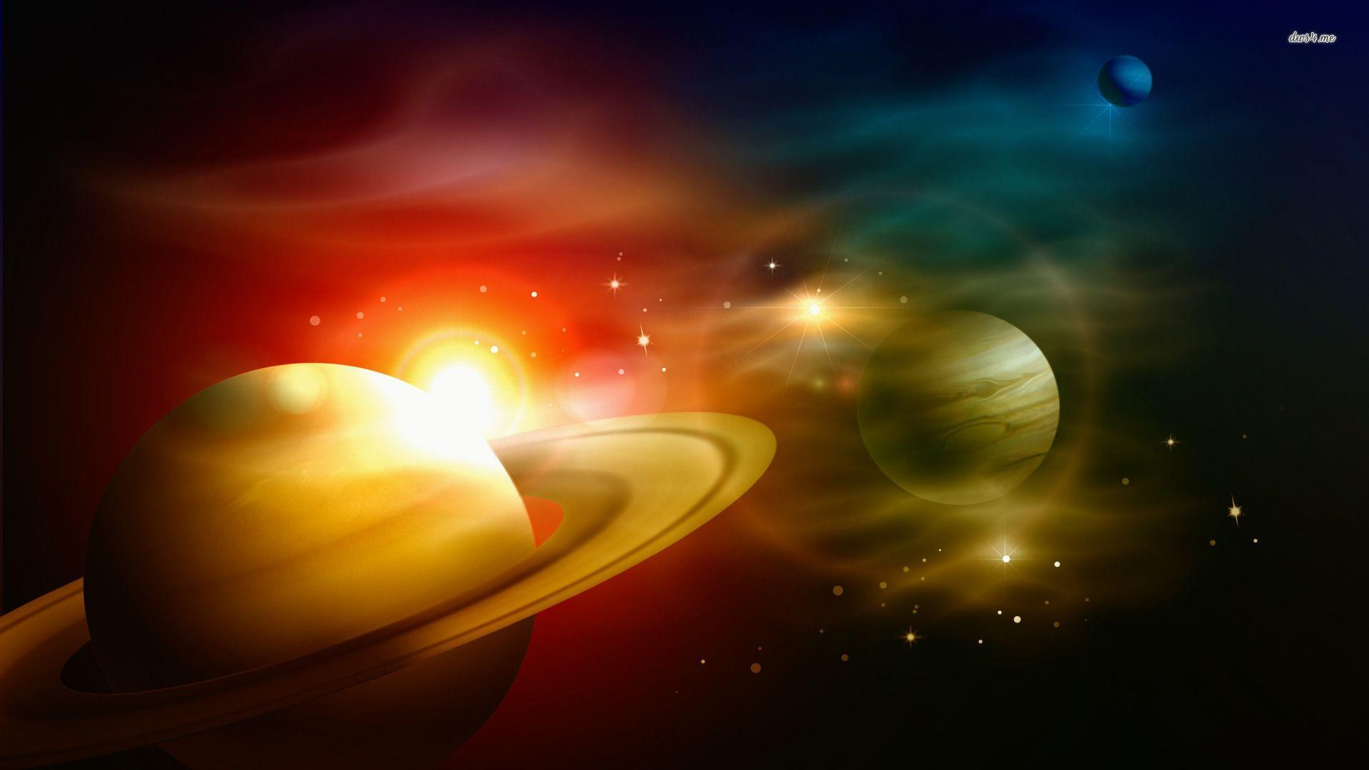 3d planets wallpaper hd - photo #8