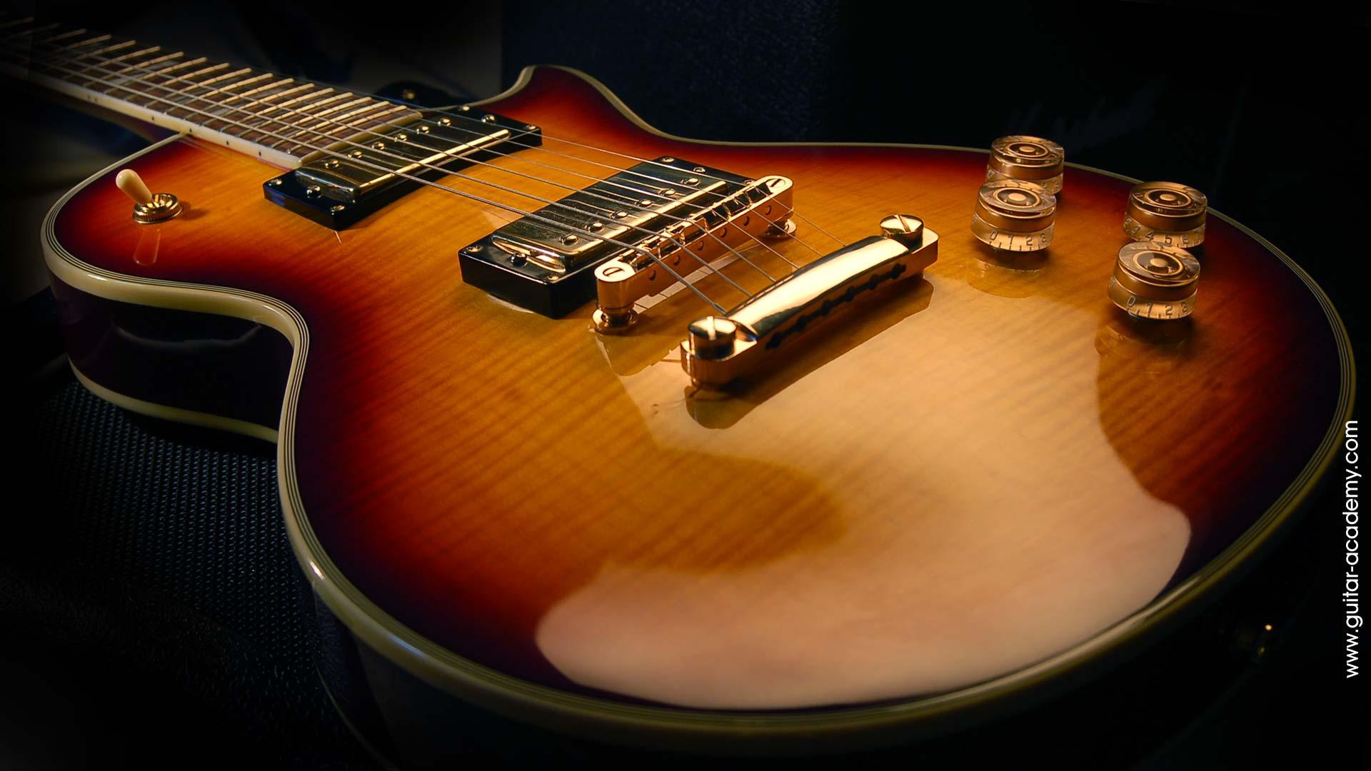 guitar wallpaper les paul - photo #1