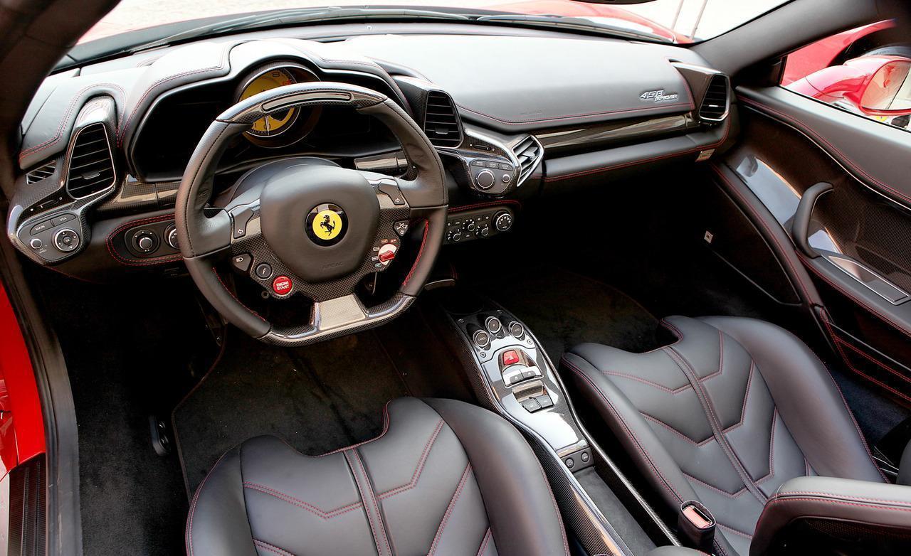 2015 Ferrari 458 Italia Black Carbon Edition HD Images (5013 .