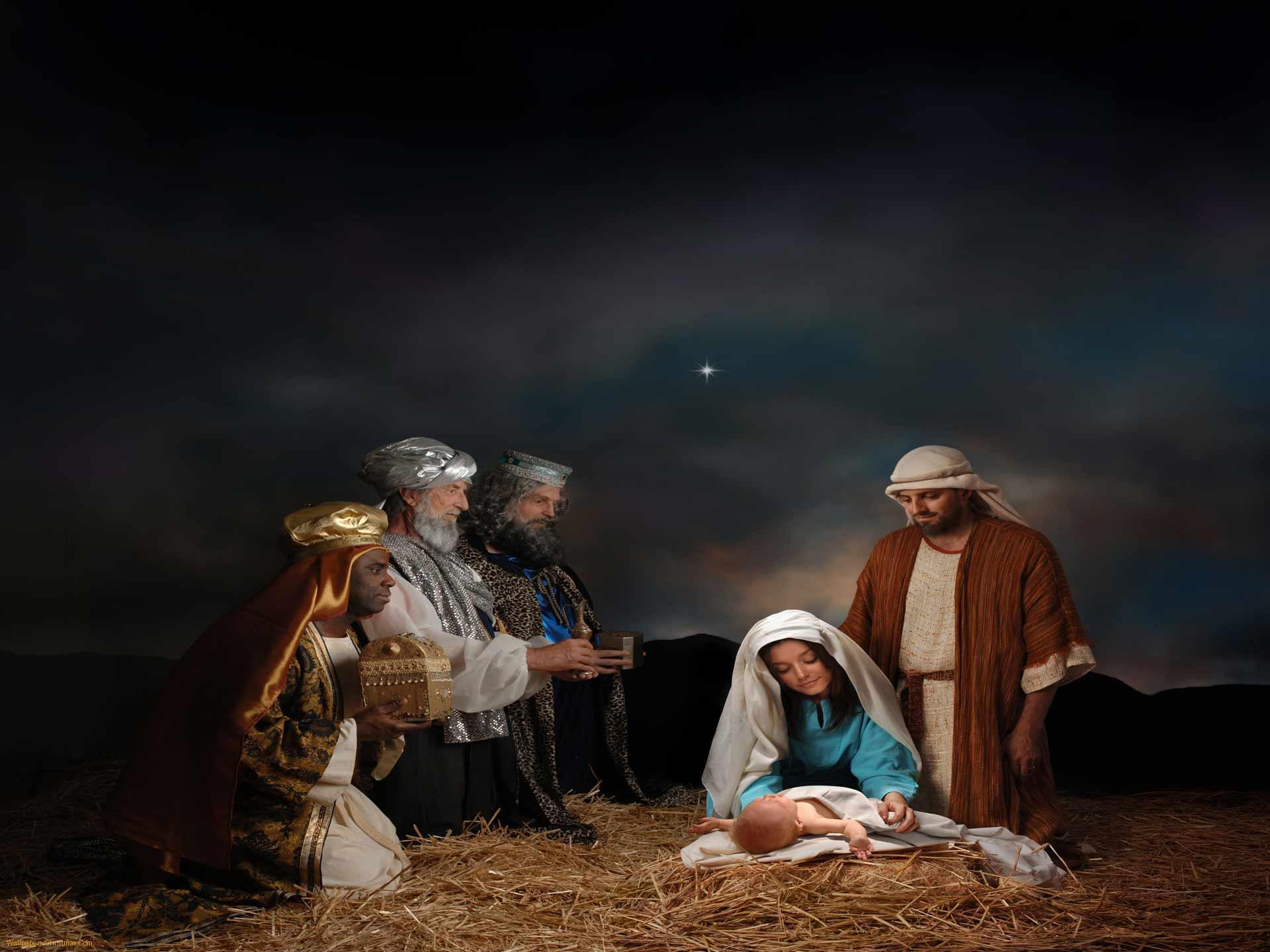 Image For > Nativity Scene Backgrounds
